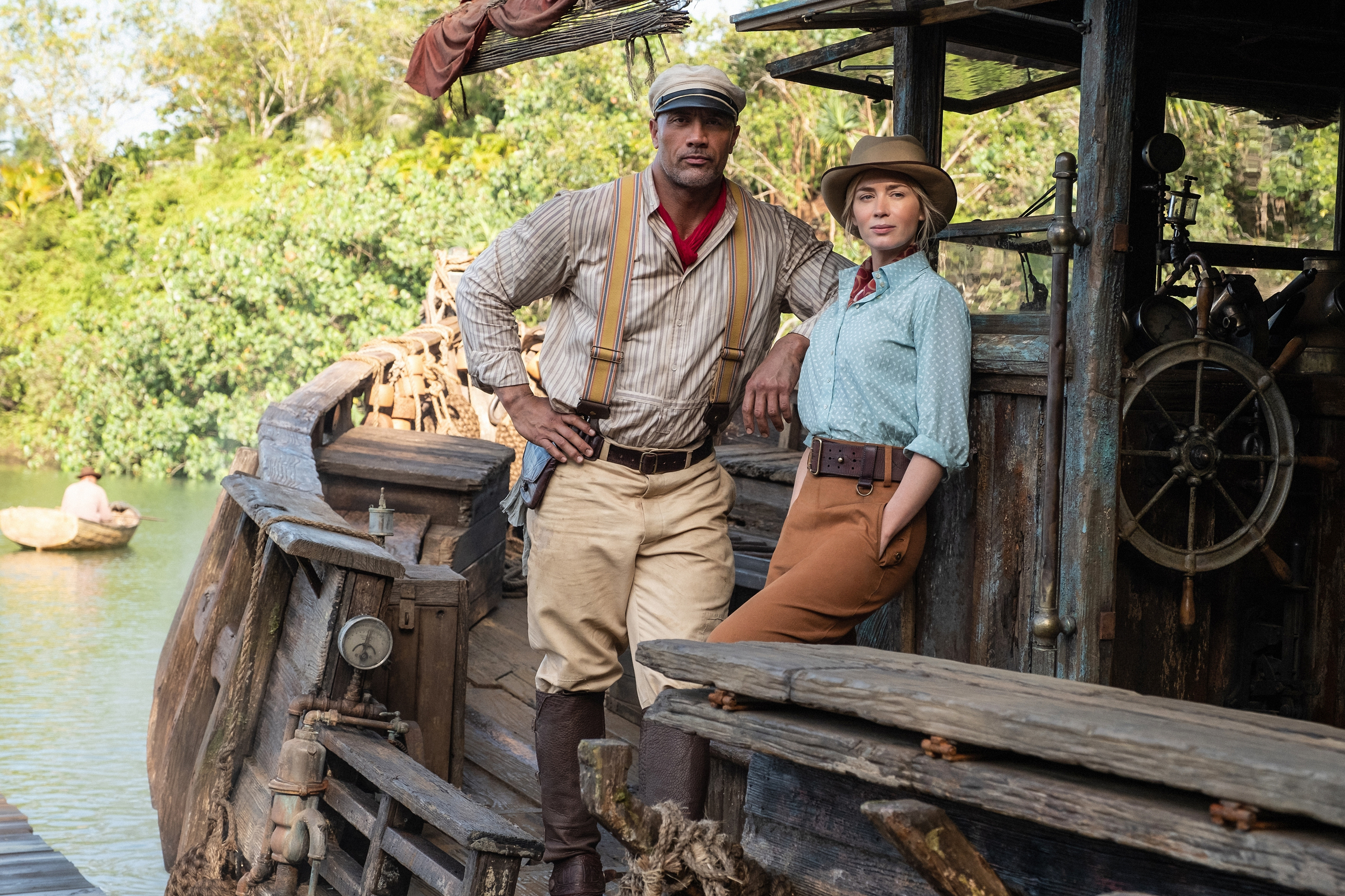 Not even The Rock's limitless charisma can save Disney's 'Jungle Cruise'