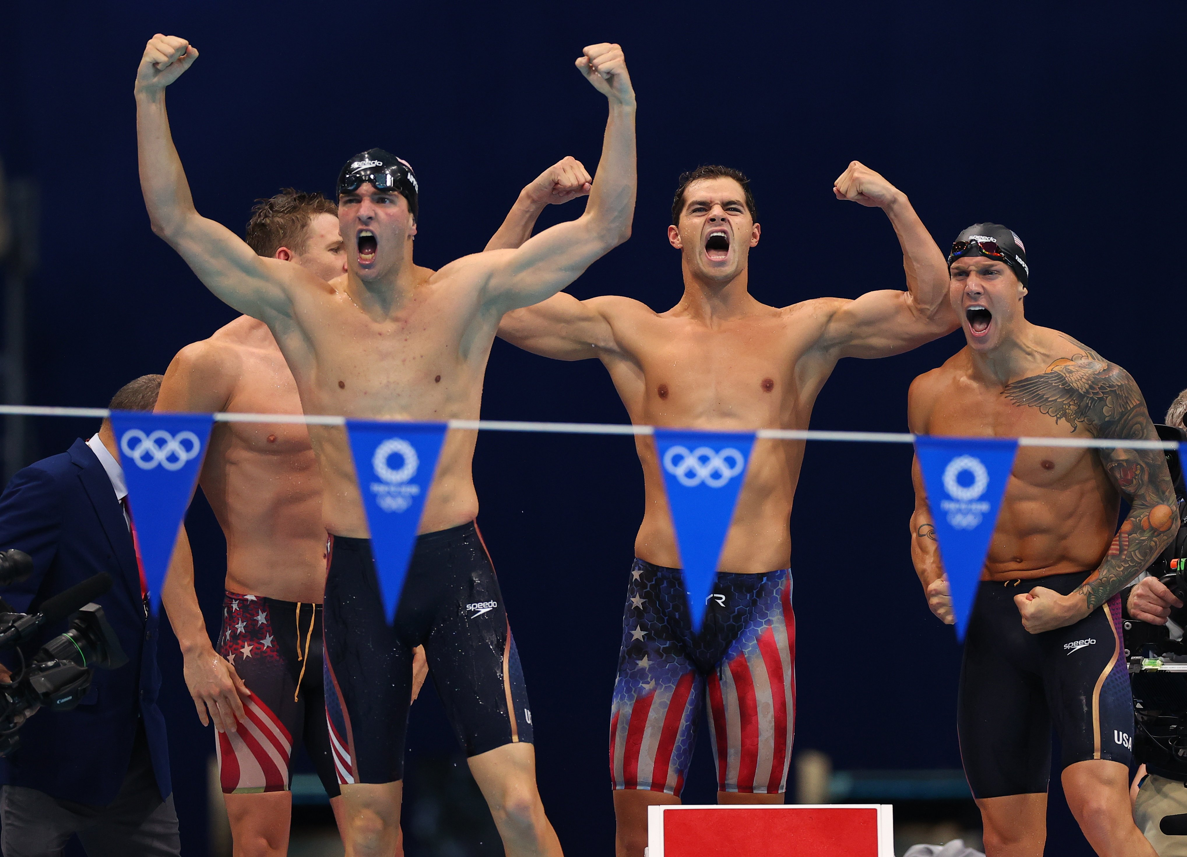 Team USA closes out Tokyo Games swimming with gold haul