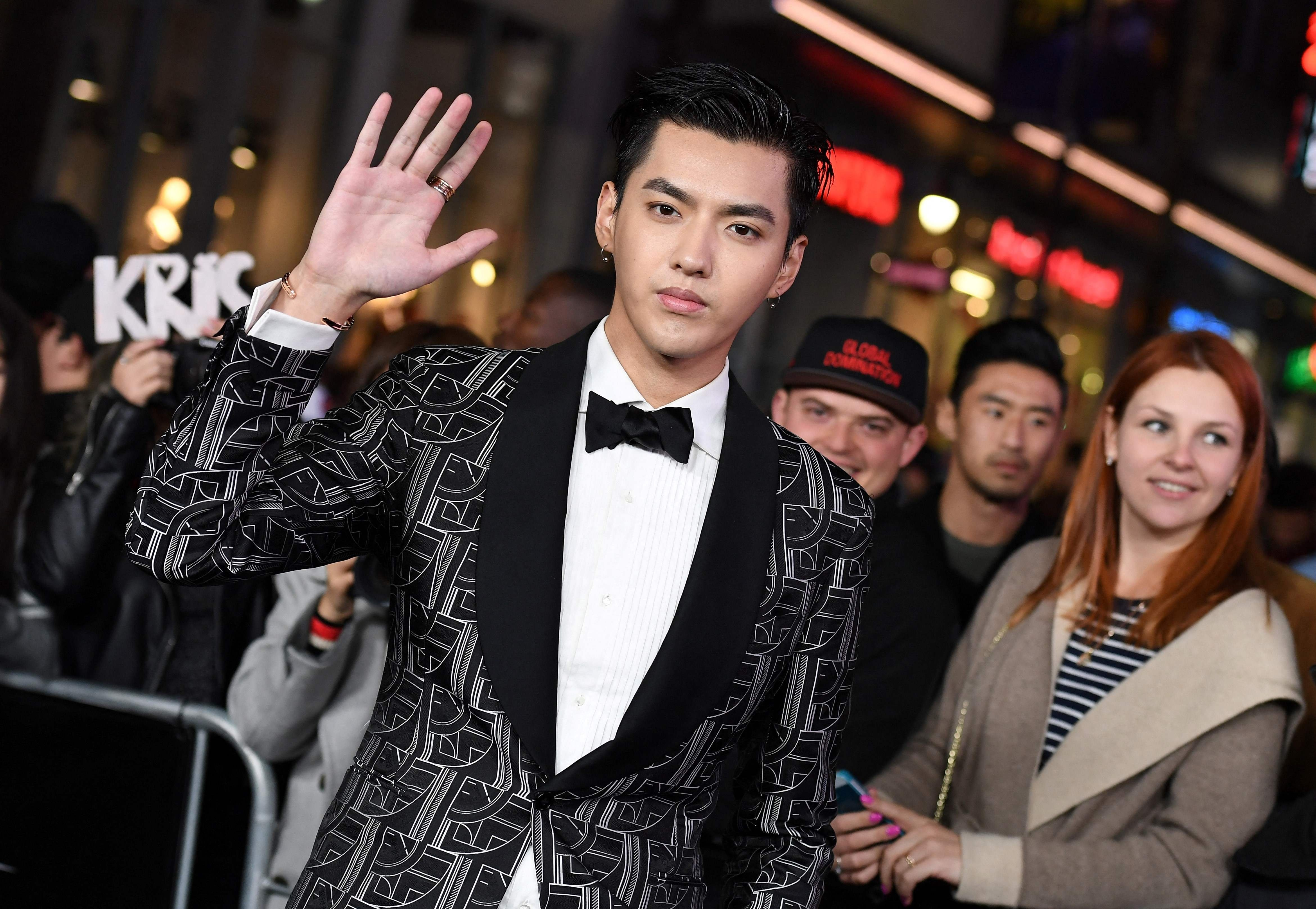 Canadian pop star Kris Wu detained over rape allegation by police in China
