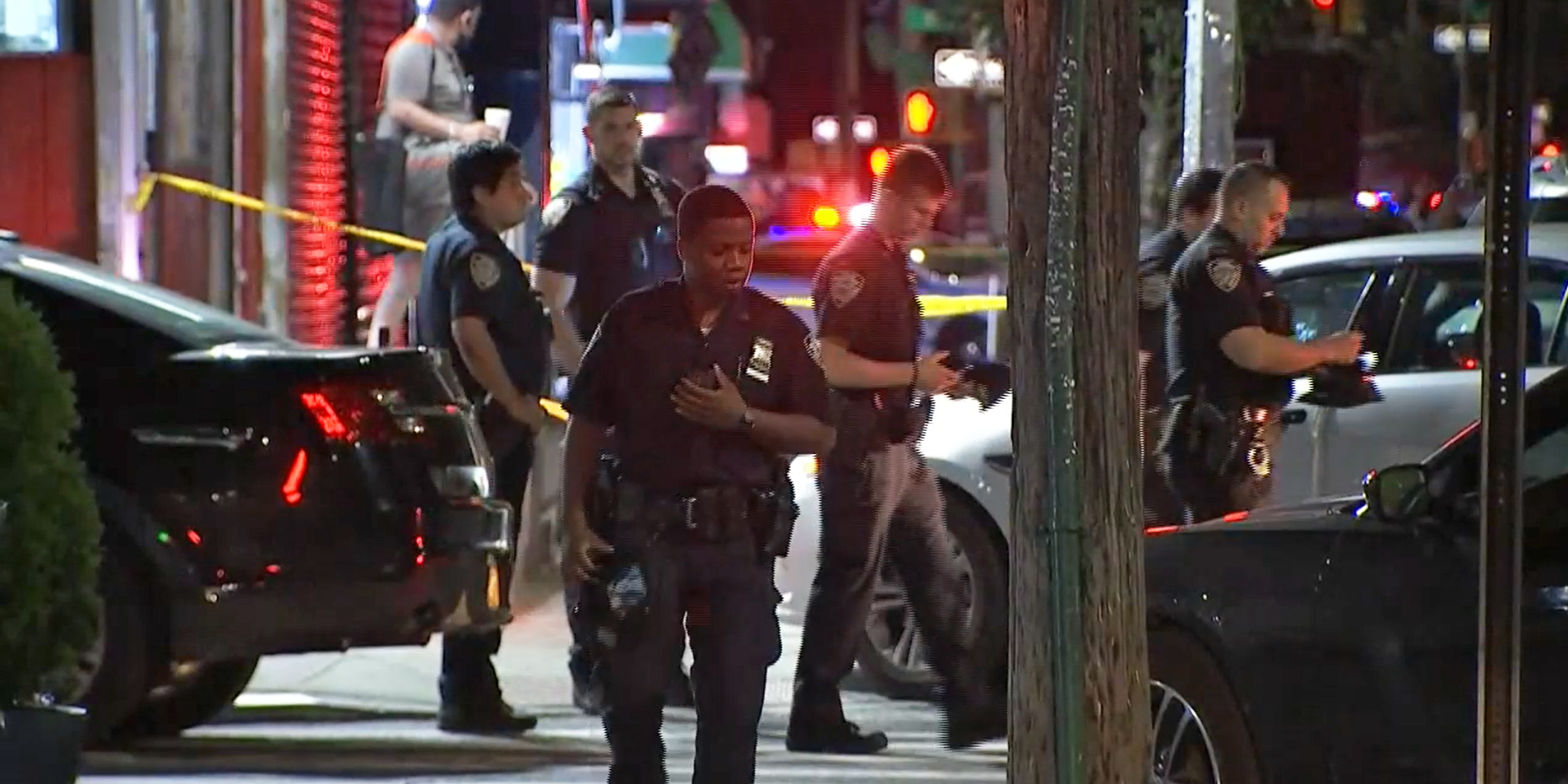 10 people shot in alleged gang attack in New York City, police say