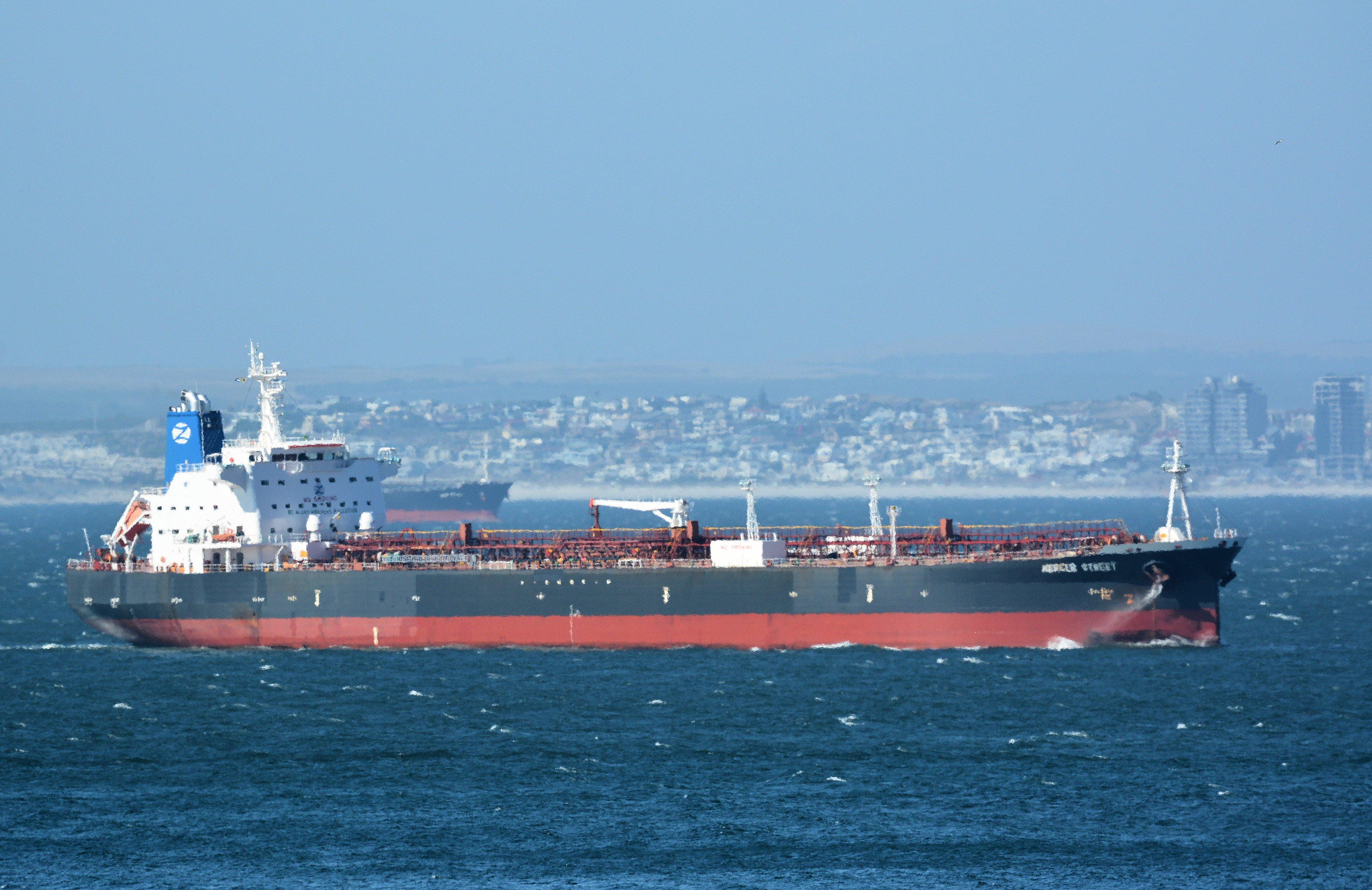U.S., U.K. and Israel say Iran attacked Israeli-managed tanker