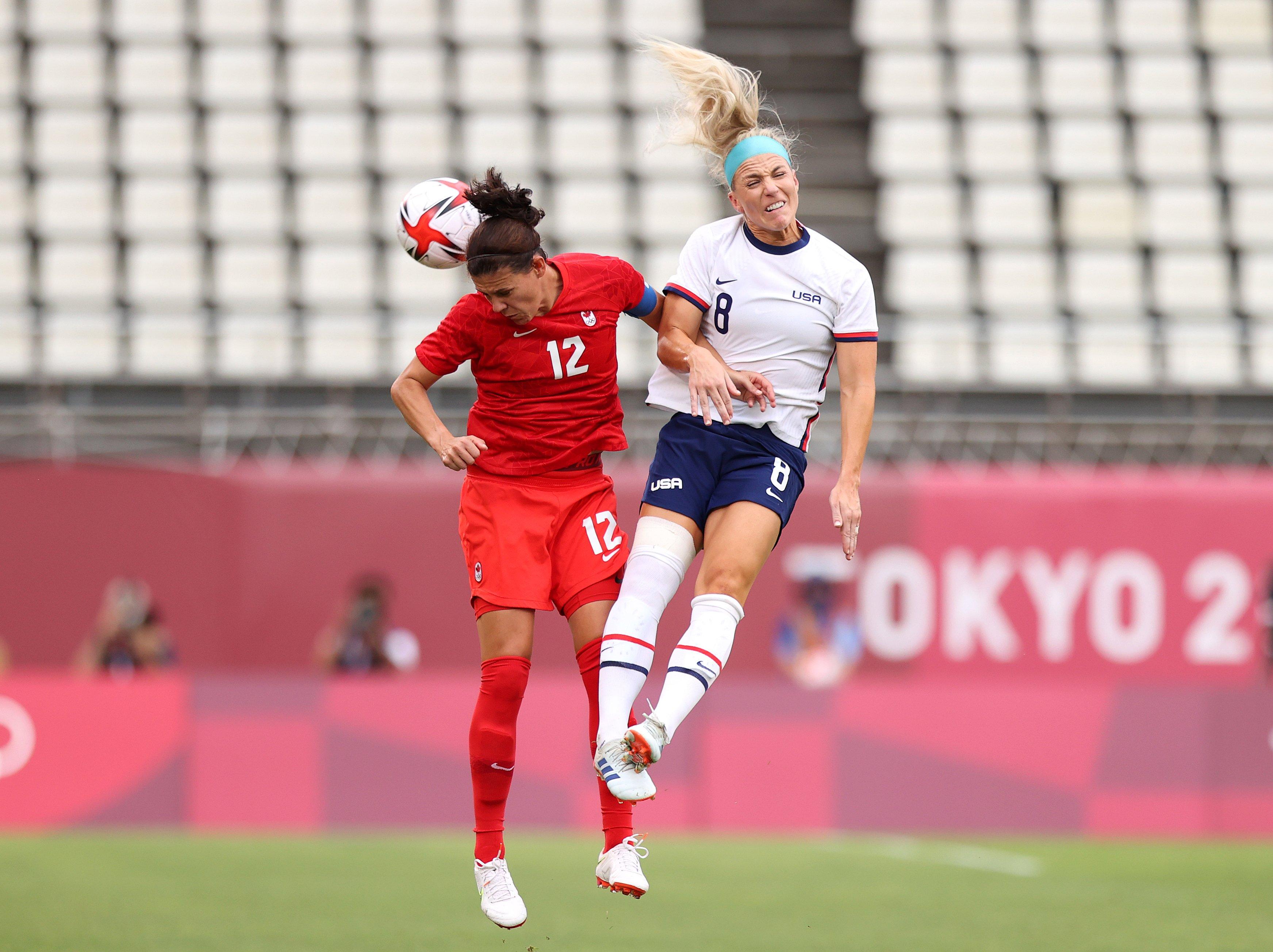 U.S. women's soccer takes on Canada in Olympic soccer semi-final