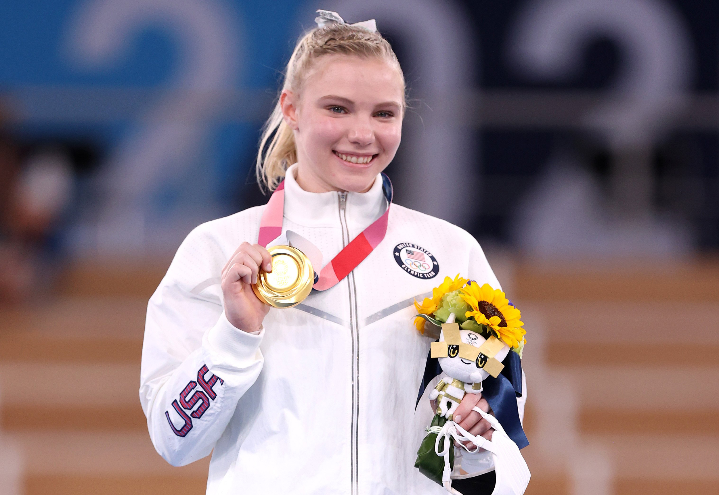 Team USA gymnast Jade Carey wins Olympic gold in floor exercise final