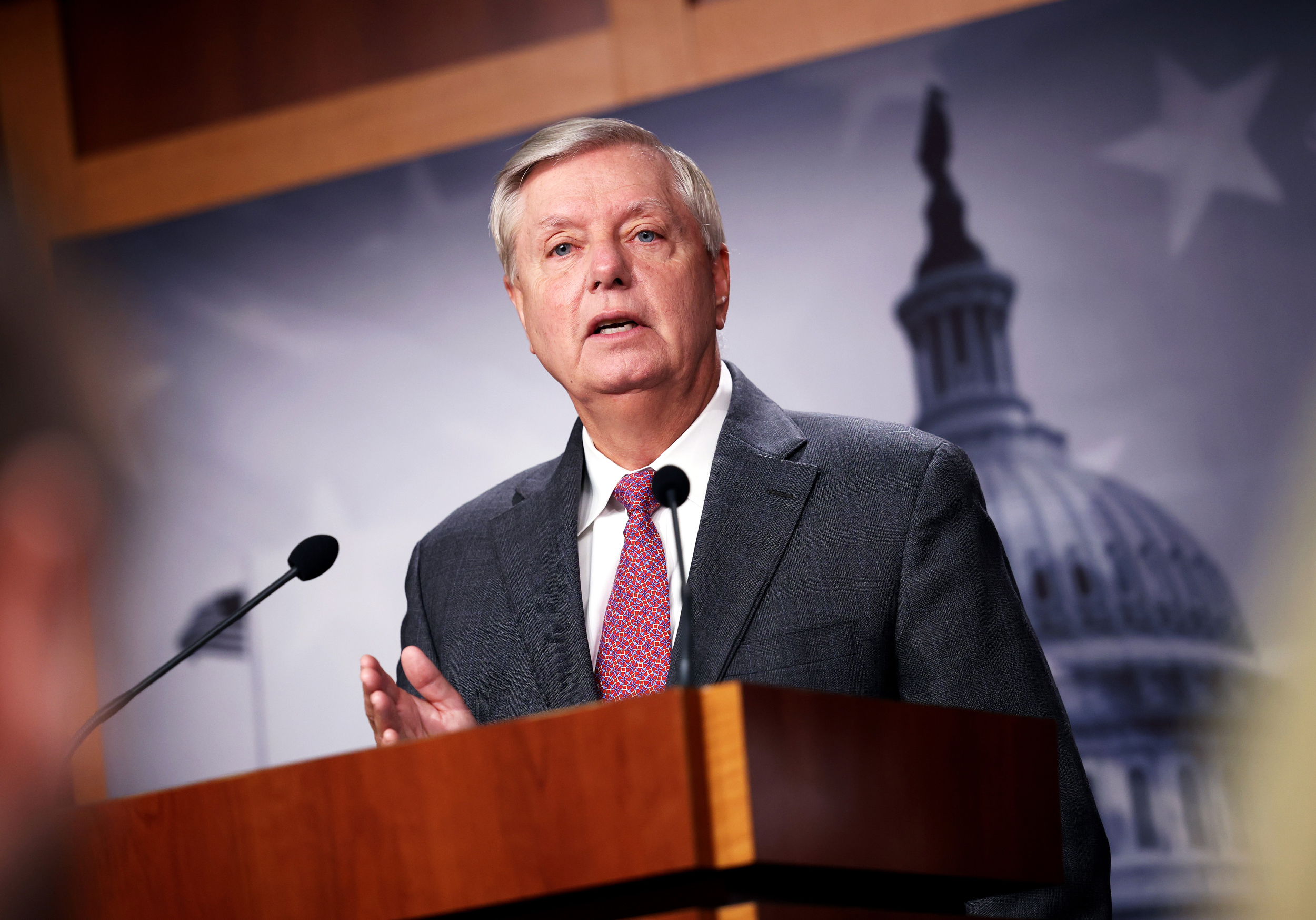 'Very glad I was vaccinated': GOP Sen. Lindsey Graham tests positive for Covid