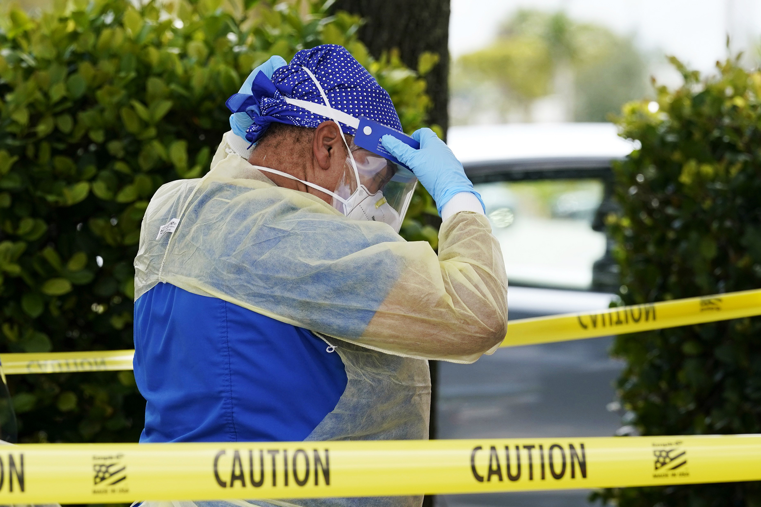 Covid is surging in Florida. Doctors and nurses are back in crisis mode.