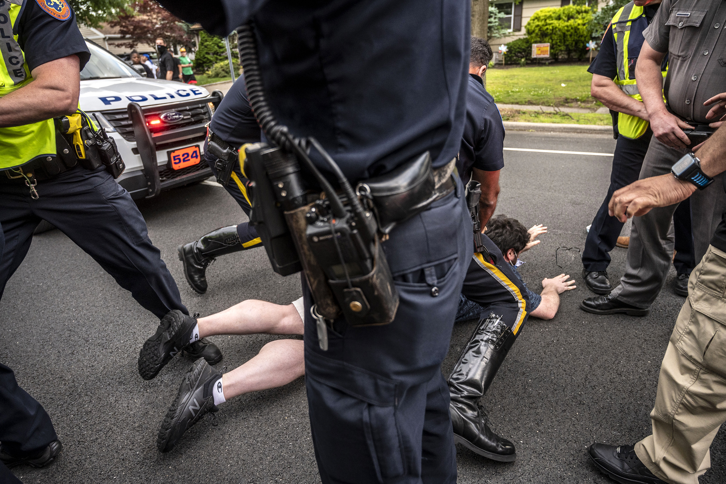 N.Y. county lawmakers pass contentious bill allowing police to sue protesters for harassment