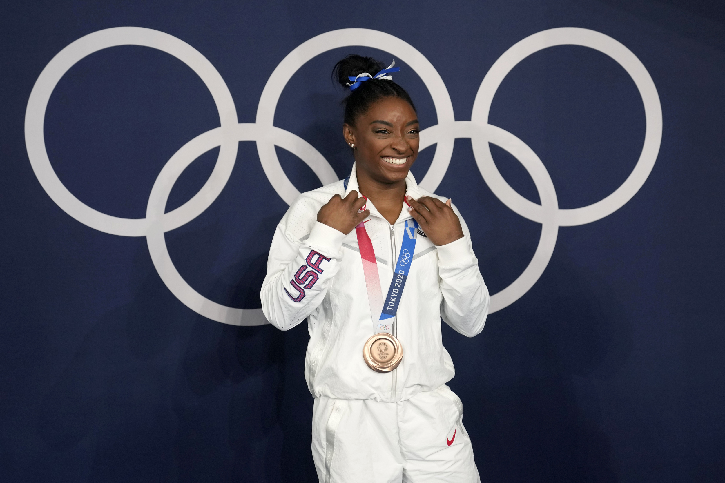 Simone Biles says Tokyo bronze means more than all her golds
