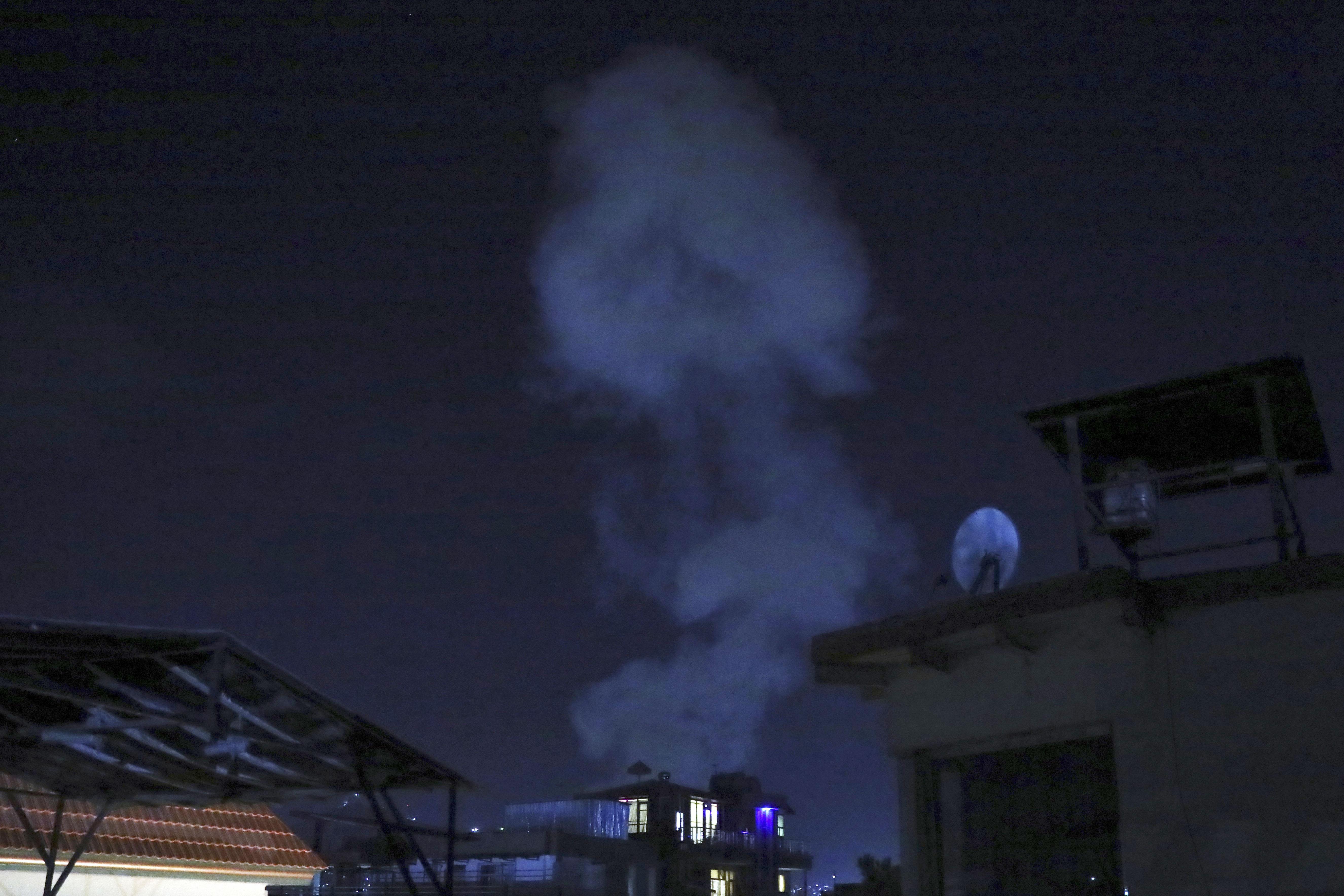 Powerful blast hits Kabul near heavily fortified 'Green Zone'