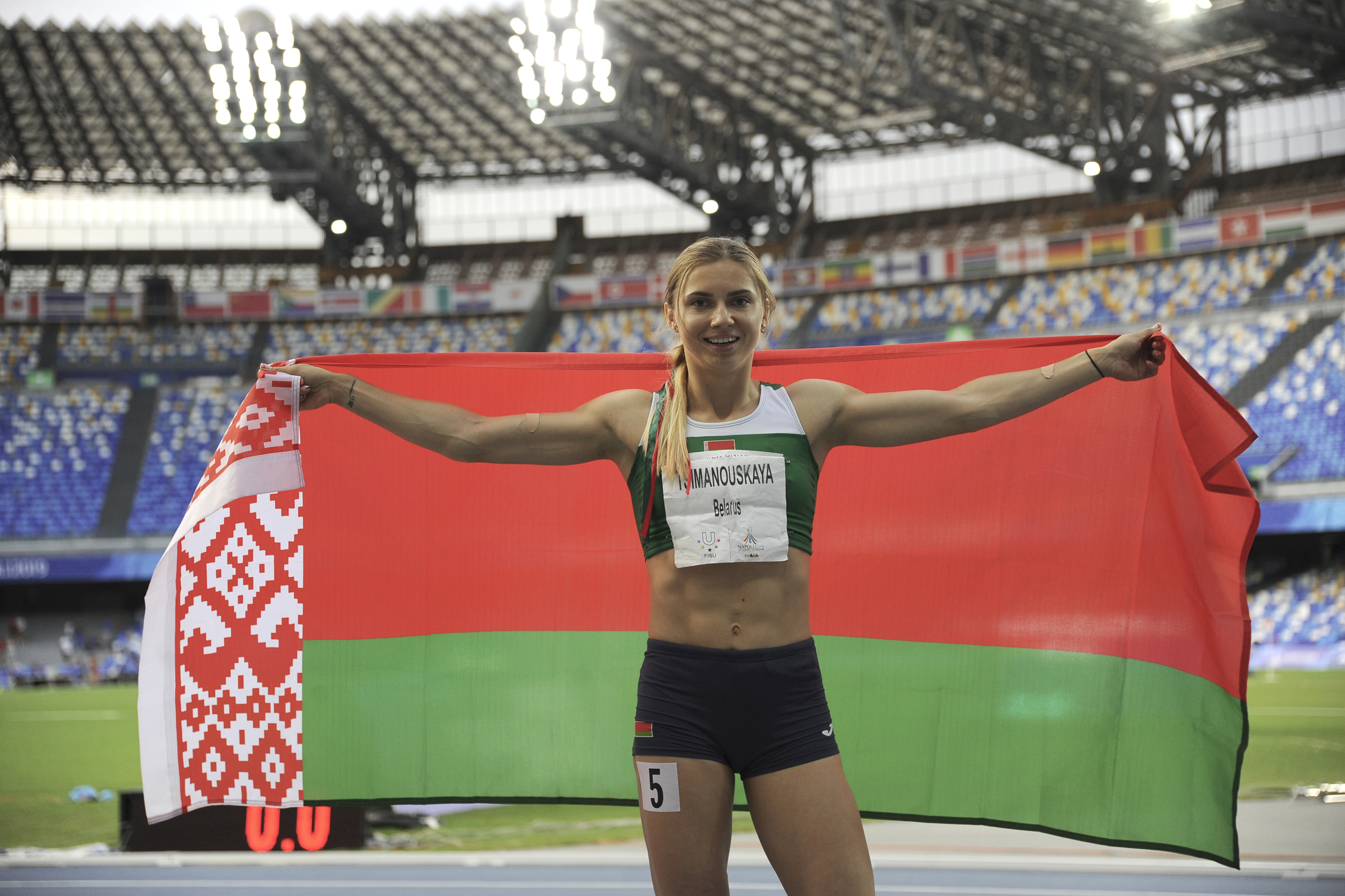 Insecure and isolated: Why Belarus wanted to silence one Olympic sprinter