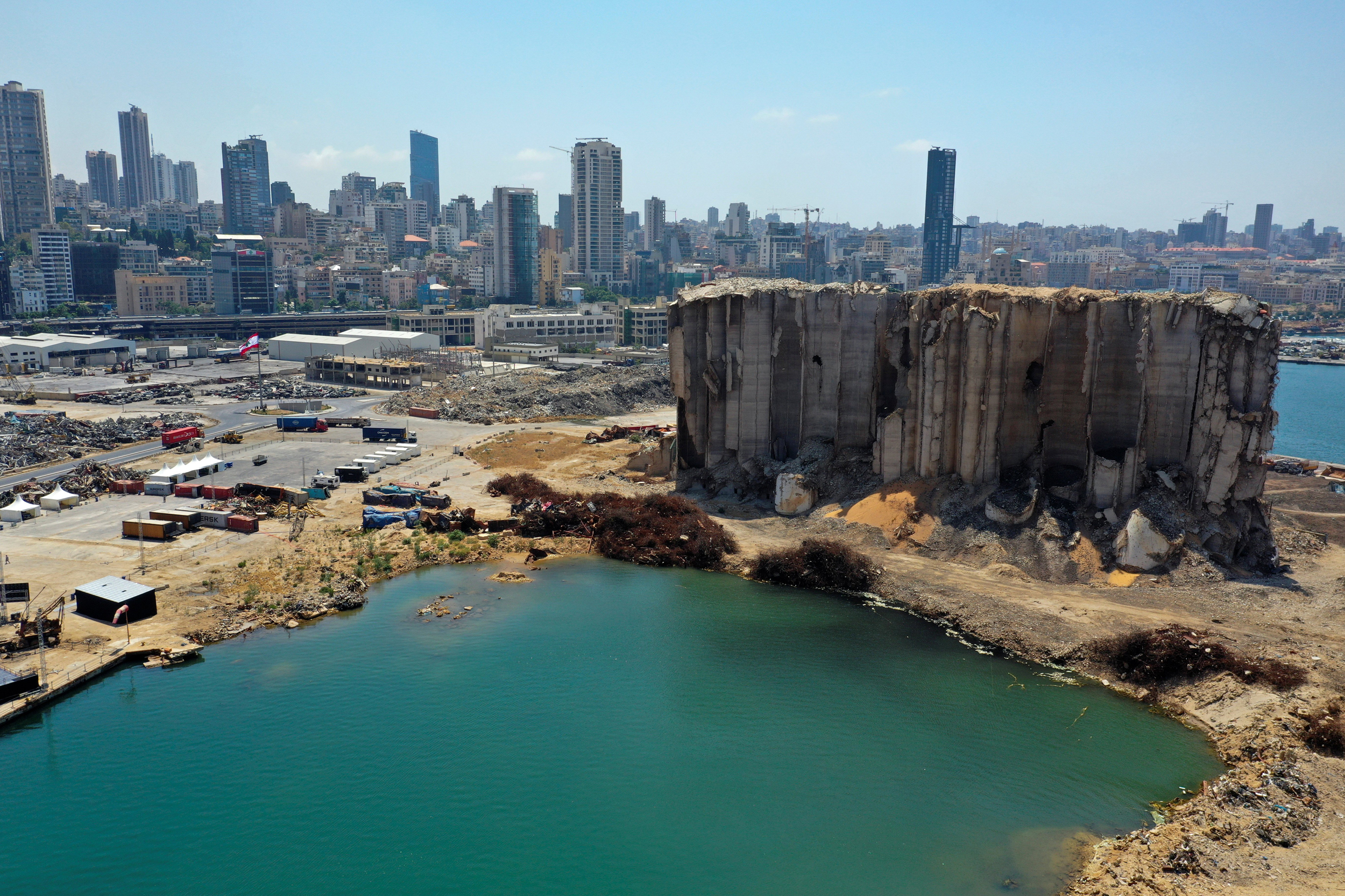 Year after devastating blast pulverized swaths of Beirut, city is still on its knees