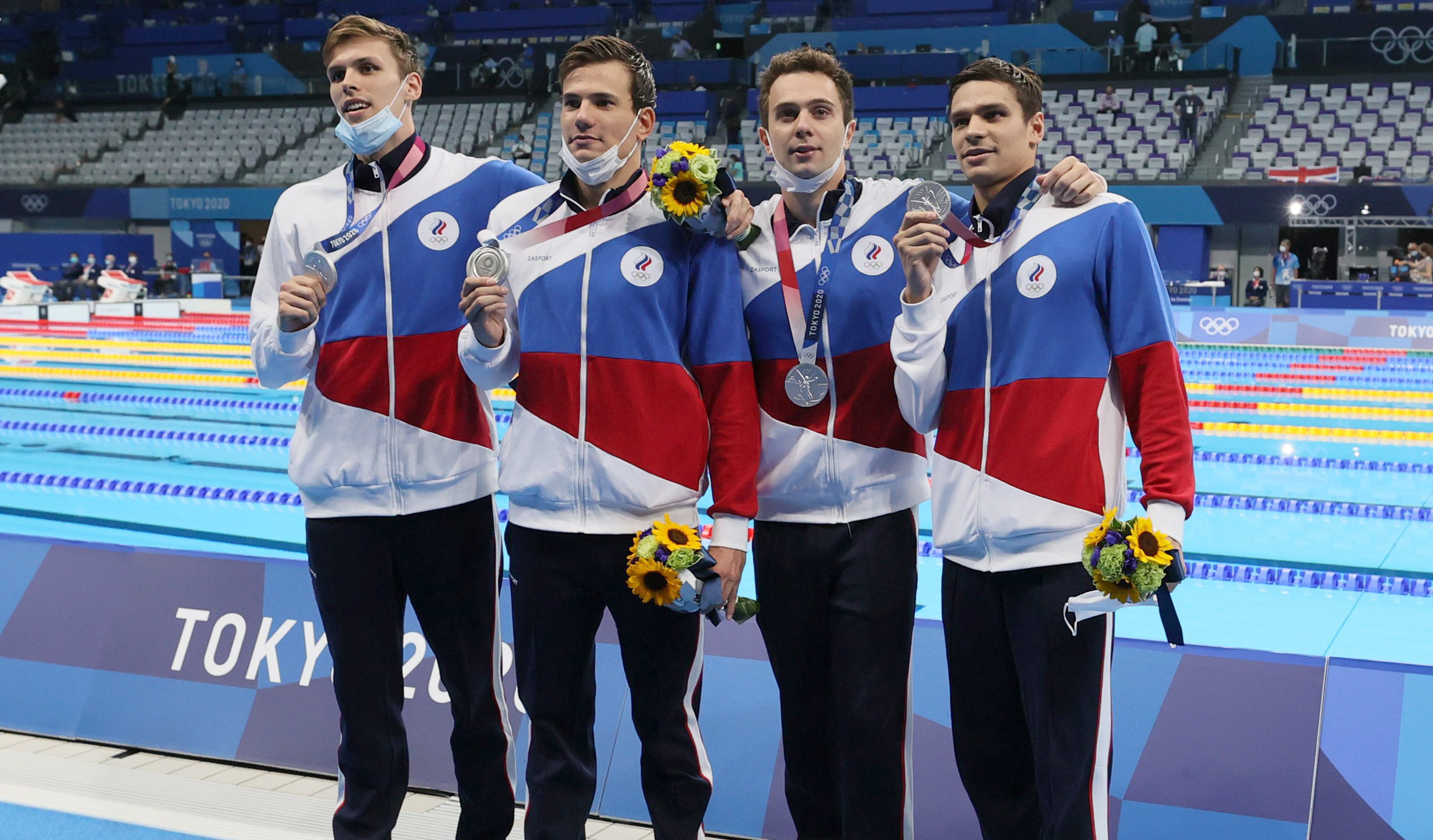 Russians are winning in Tokyo even though Team Russia is banned from the Games
