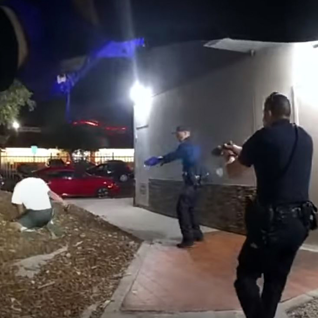 San Diego police video appears to show armed man fatally shot in back after foot chase