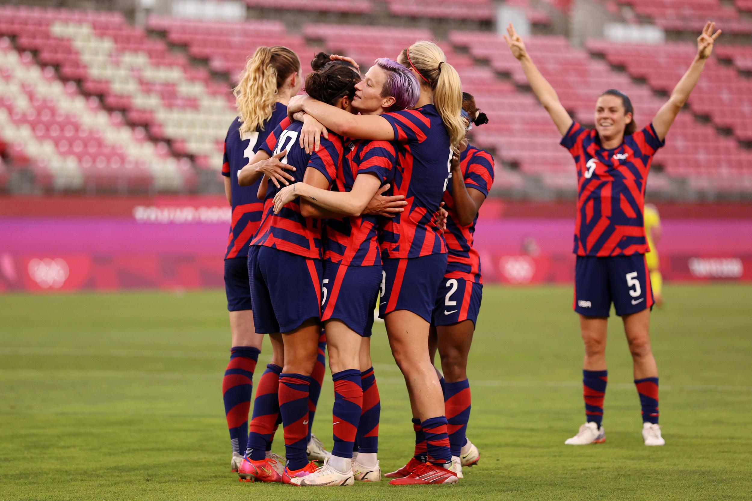 U.S. beats Australia, wins bronze in likely end for golden era of women's soccer