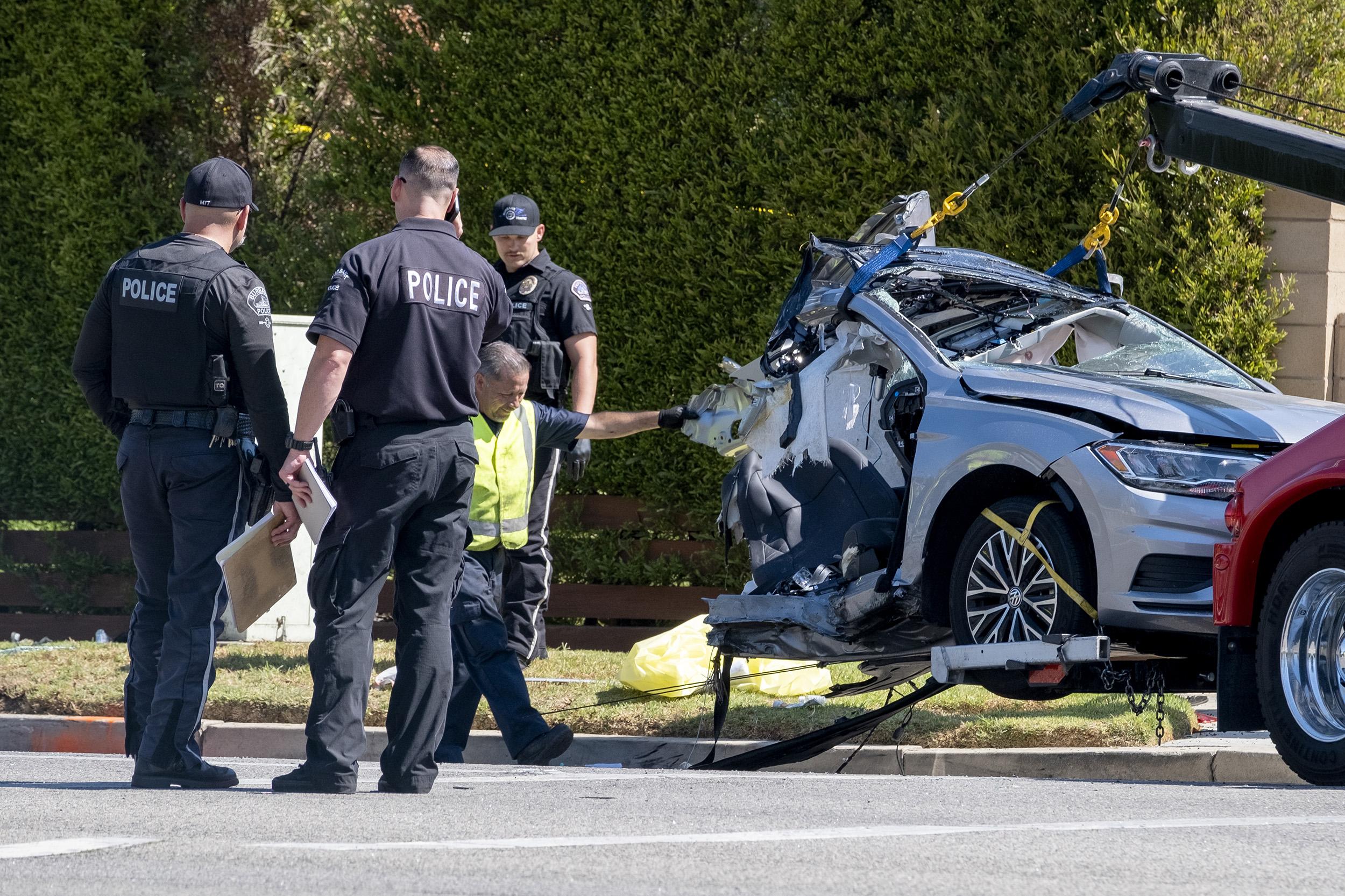 Comedian Tony Baker's son, 2 others killed in California crash