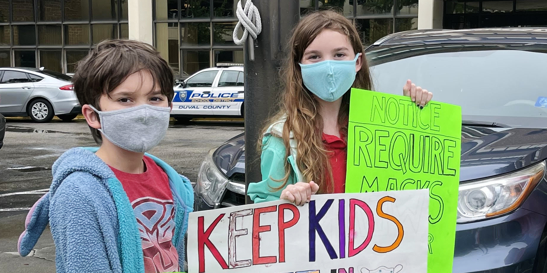 Florida 12-year-old advocates for mask mandates in schools