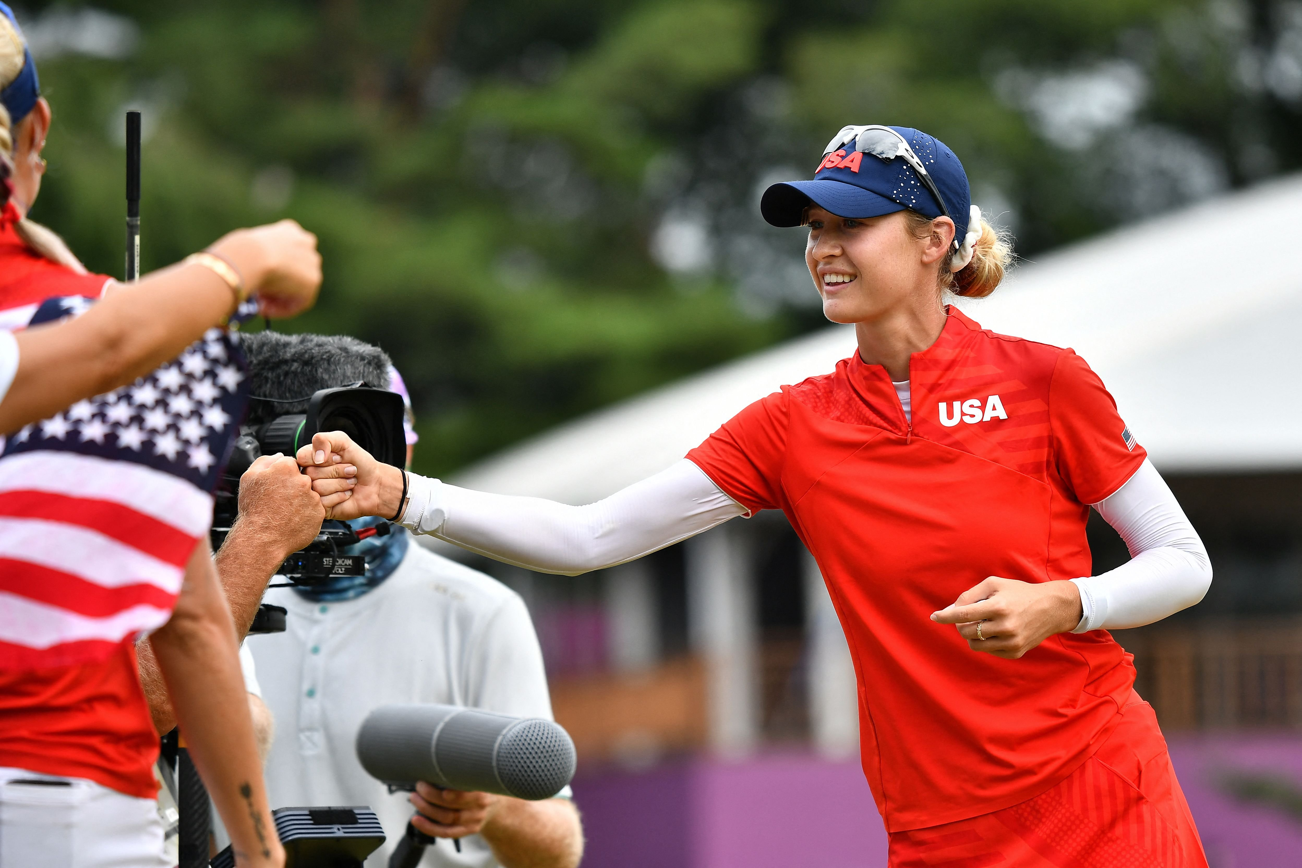 Nelly Korda wins gold as Team USA dominates golf in Tokyo