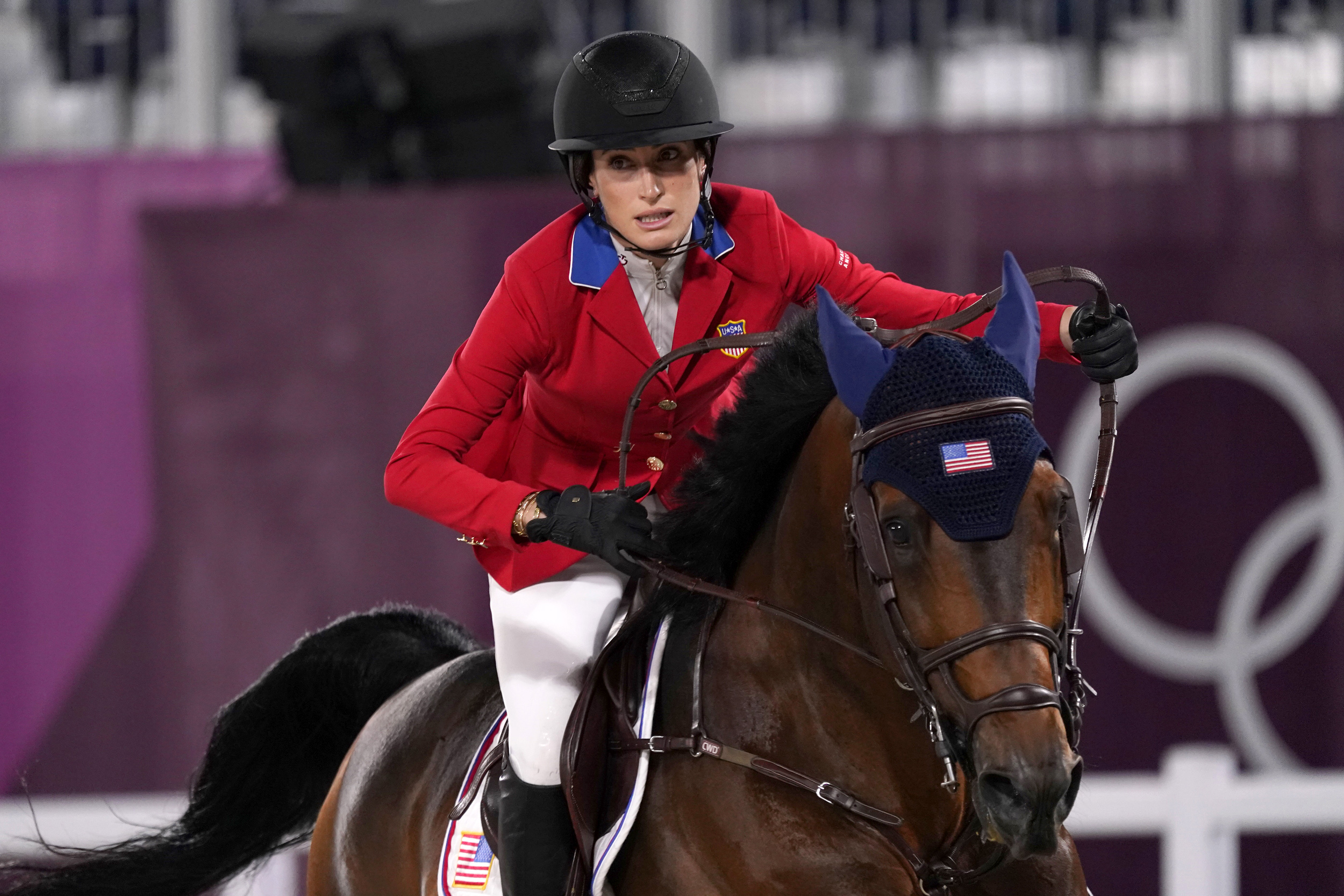 Jessica Springsteen, daughter of rock icon Bruce Springsteen, captures silver in Olympic debut