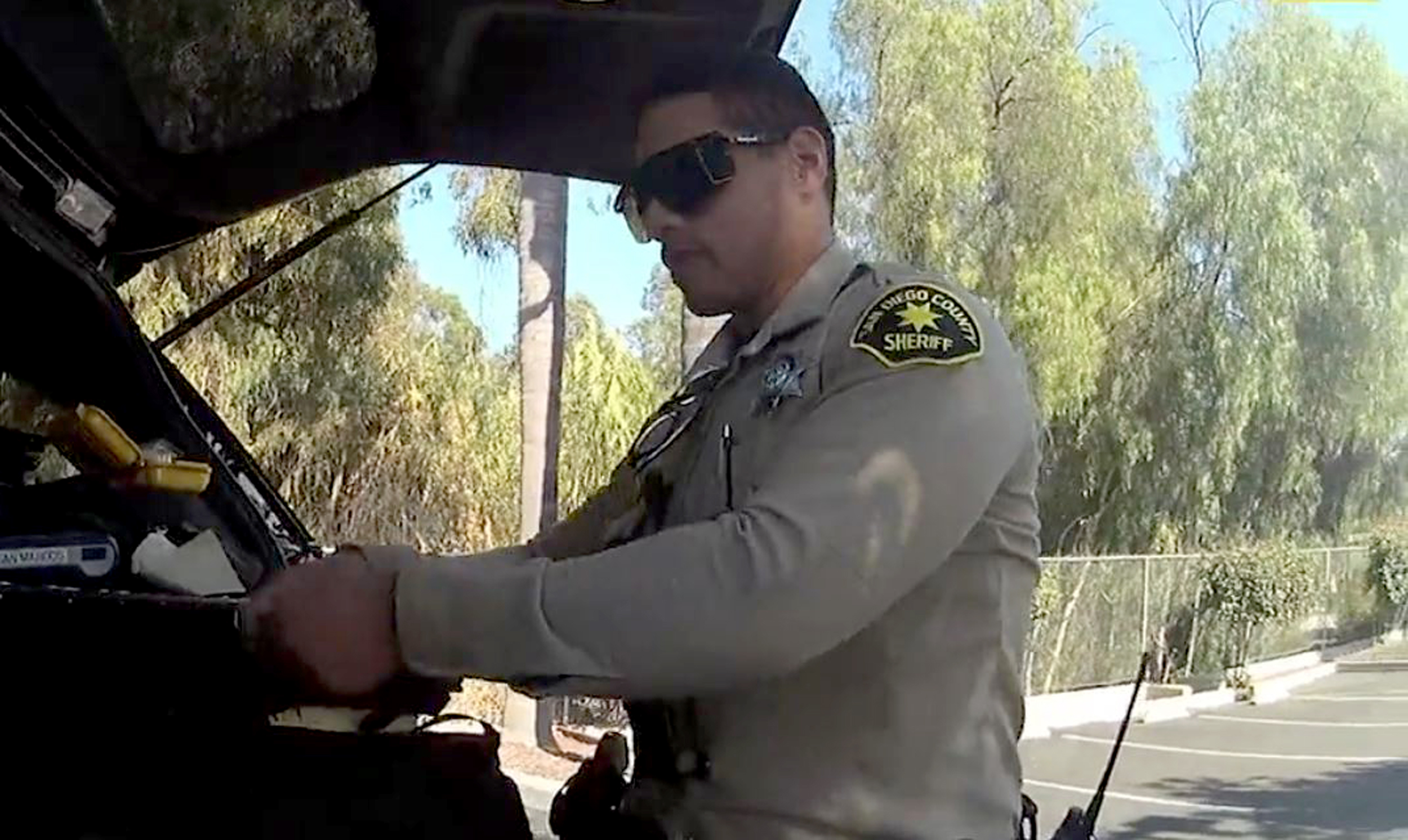 Video of deputy's drug collapse questioned