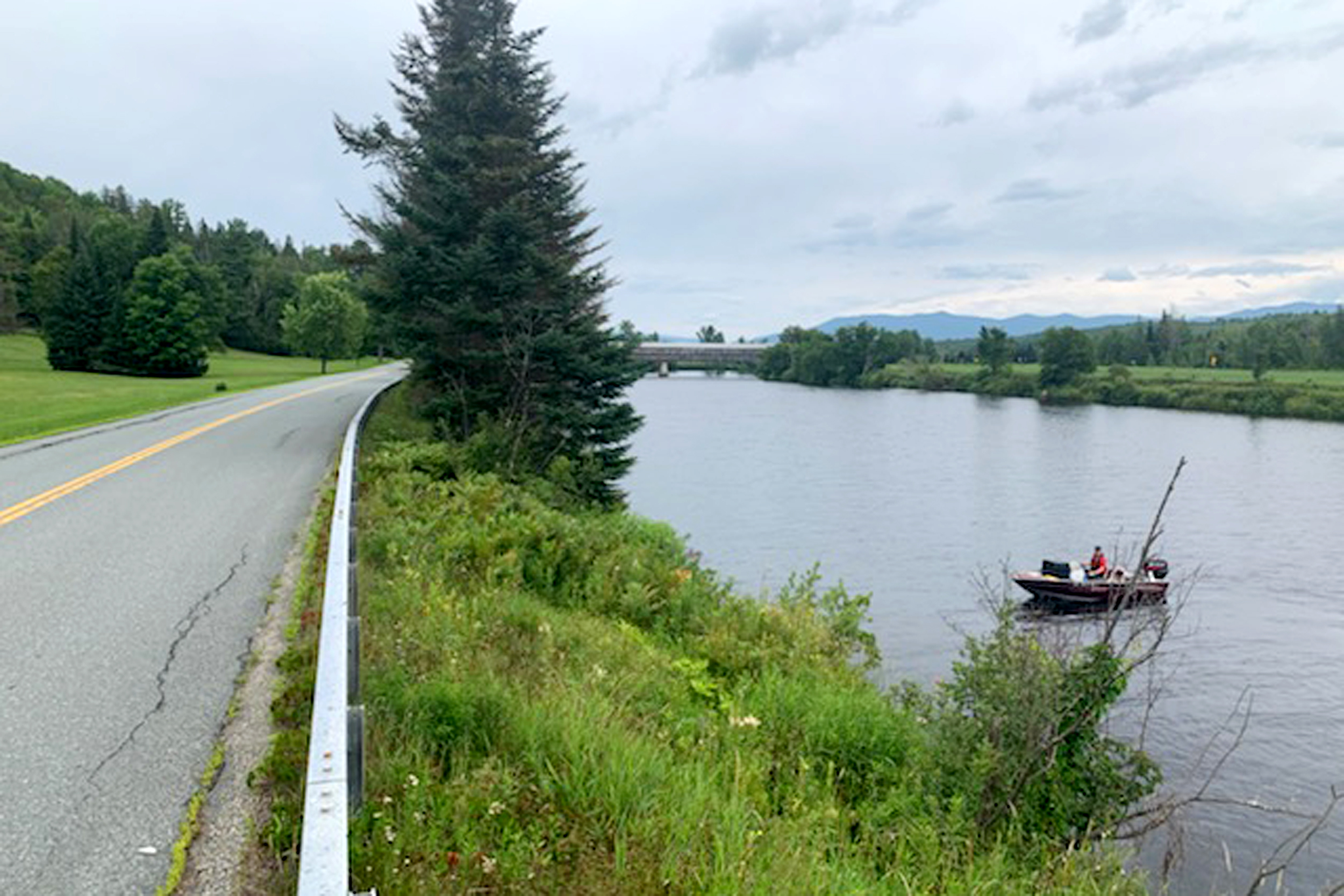 Human remains, car found in river in search of N.H. woman missing for 43 years