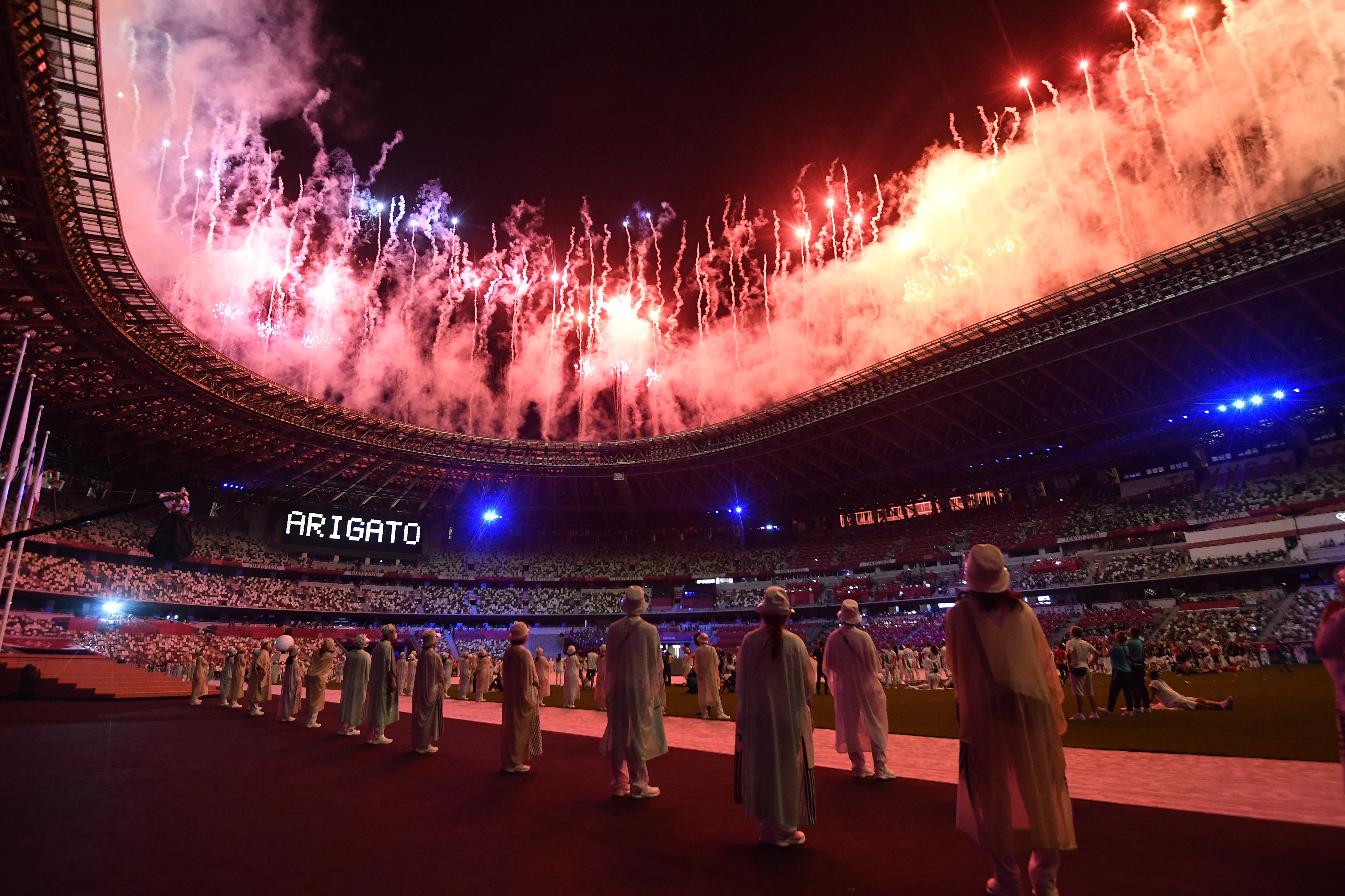 Tokyo passes Olympic baton to Paris after imperfect, irrepressible games
