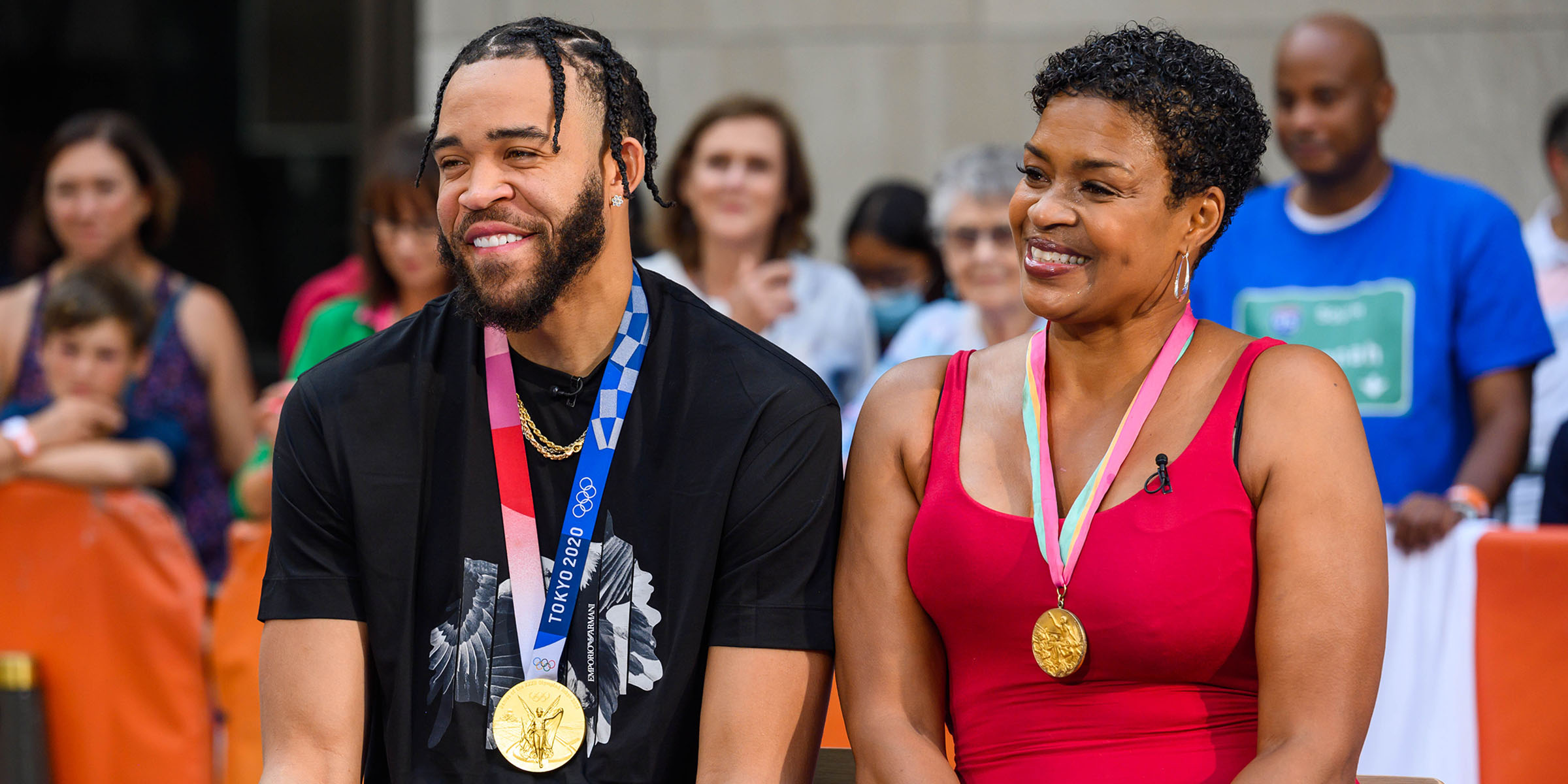 Pamela and JaVale McGee Are First-Ever Mother and Son to Win Olympic Gold Medals
