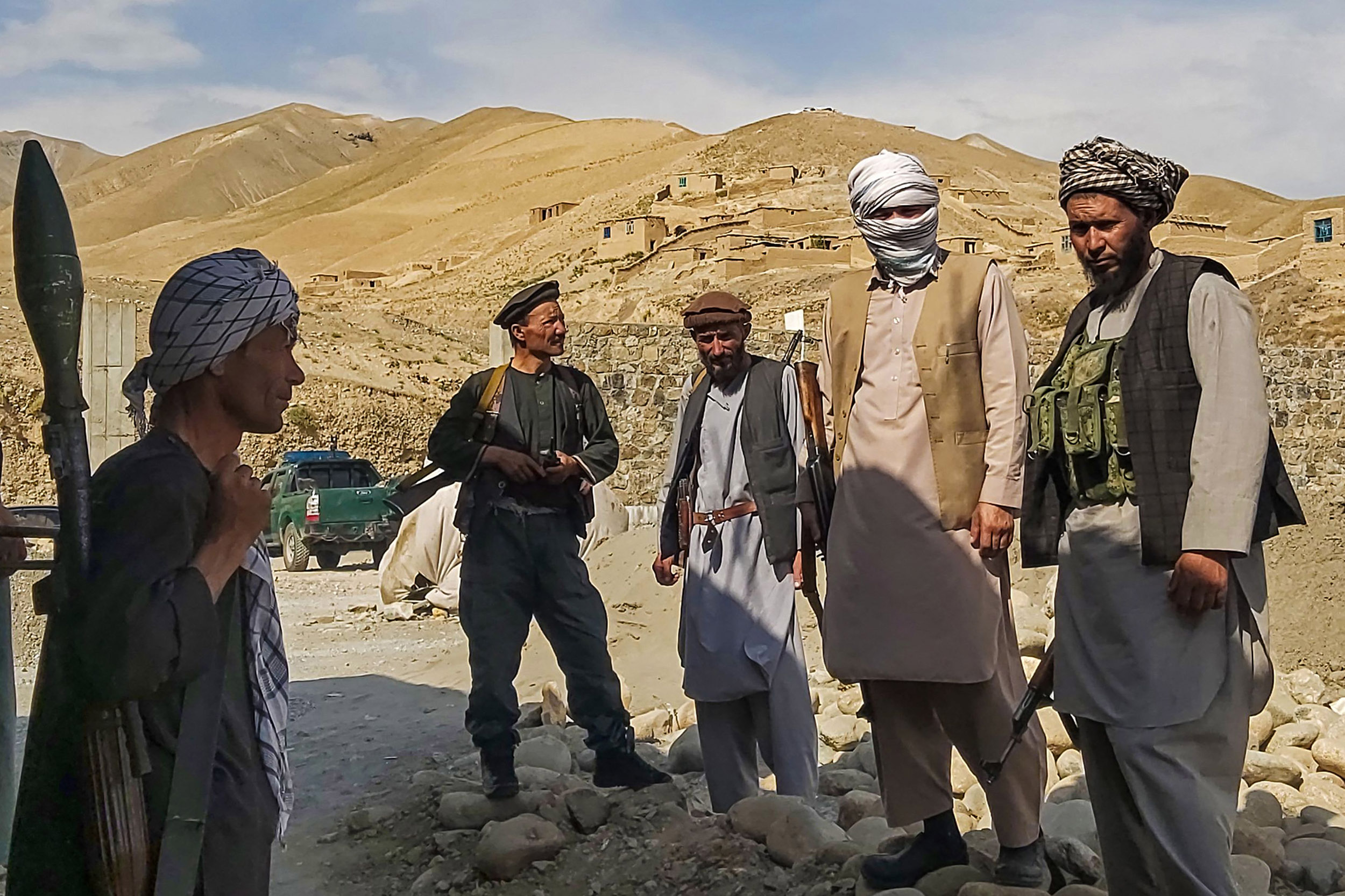 Taliban seizes cities across Afghanistan as U.S. forces exit