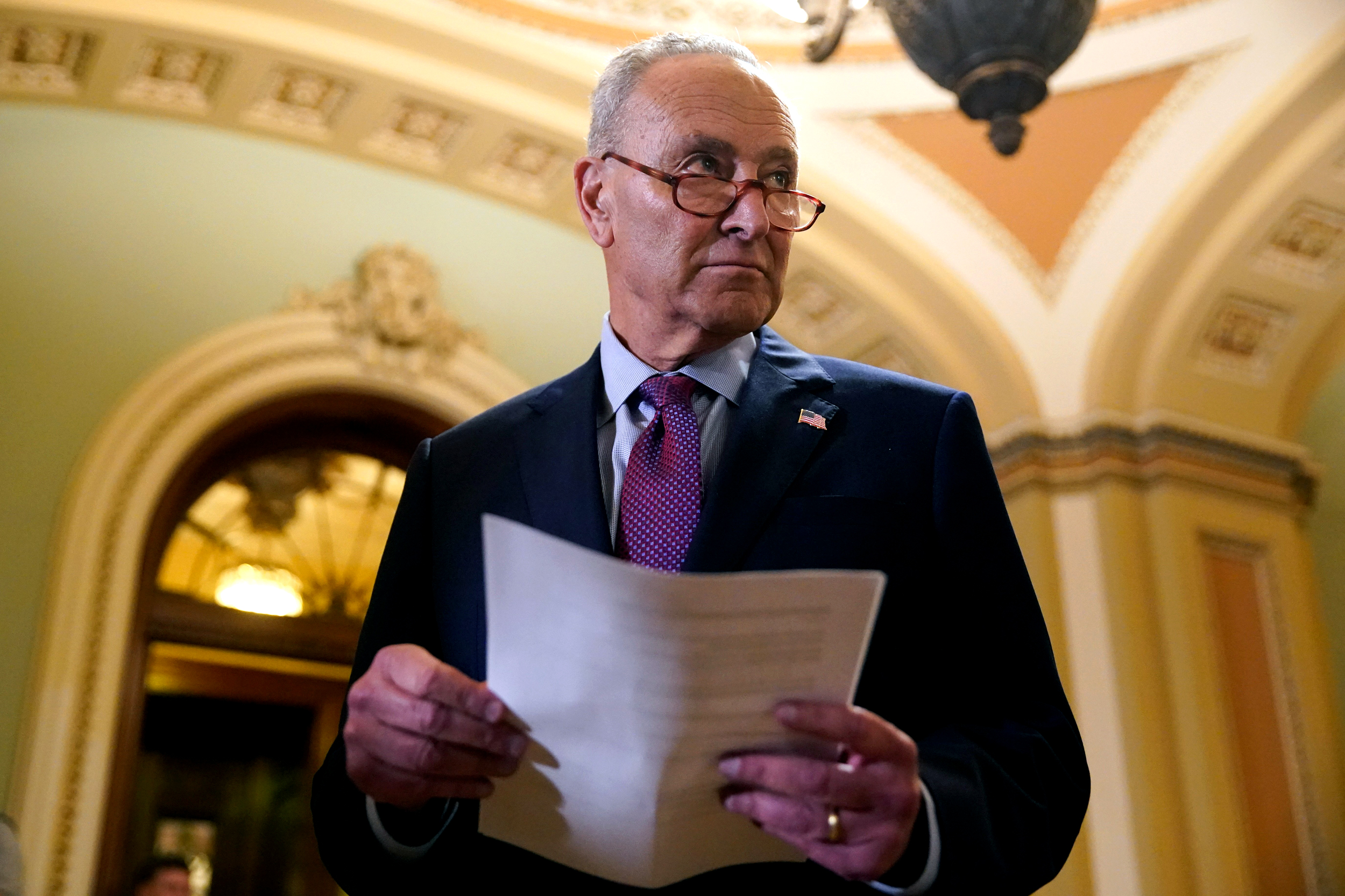 Schumer says Senate will 'immediately' consider budget after infrastructure bill
