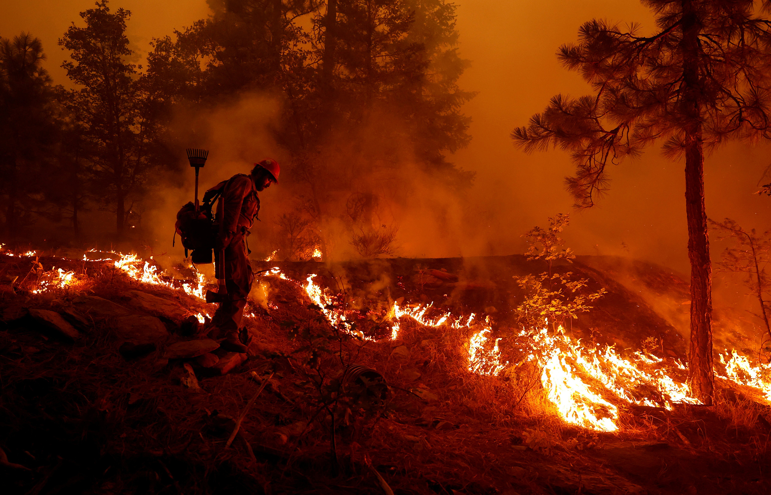 Dixie Fire is now 2nd largest in Calif. history as the West braces for summer's 6th heat wave