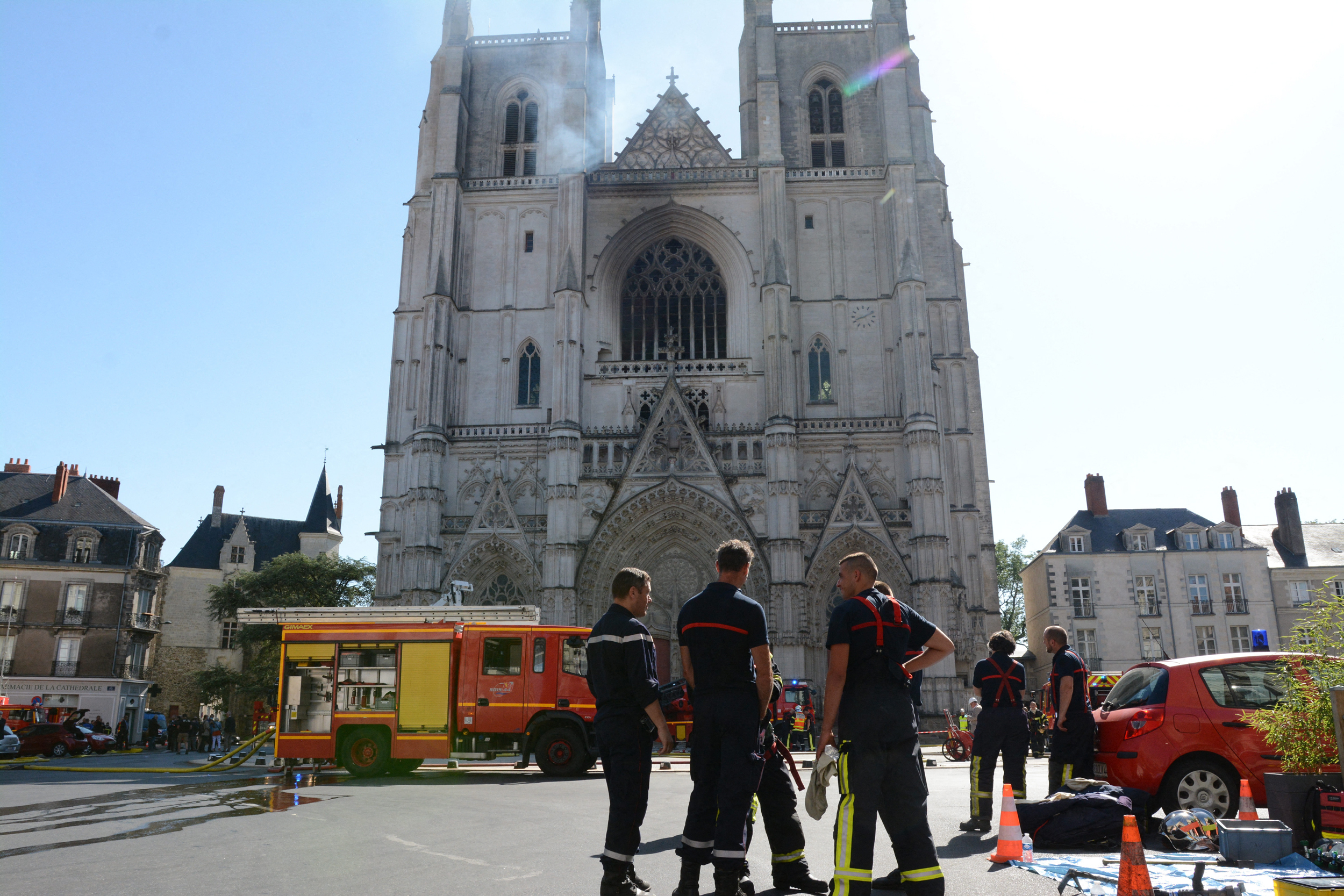 Man under investigation for cathedral fire now suspected of killing French priest