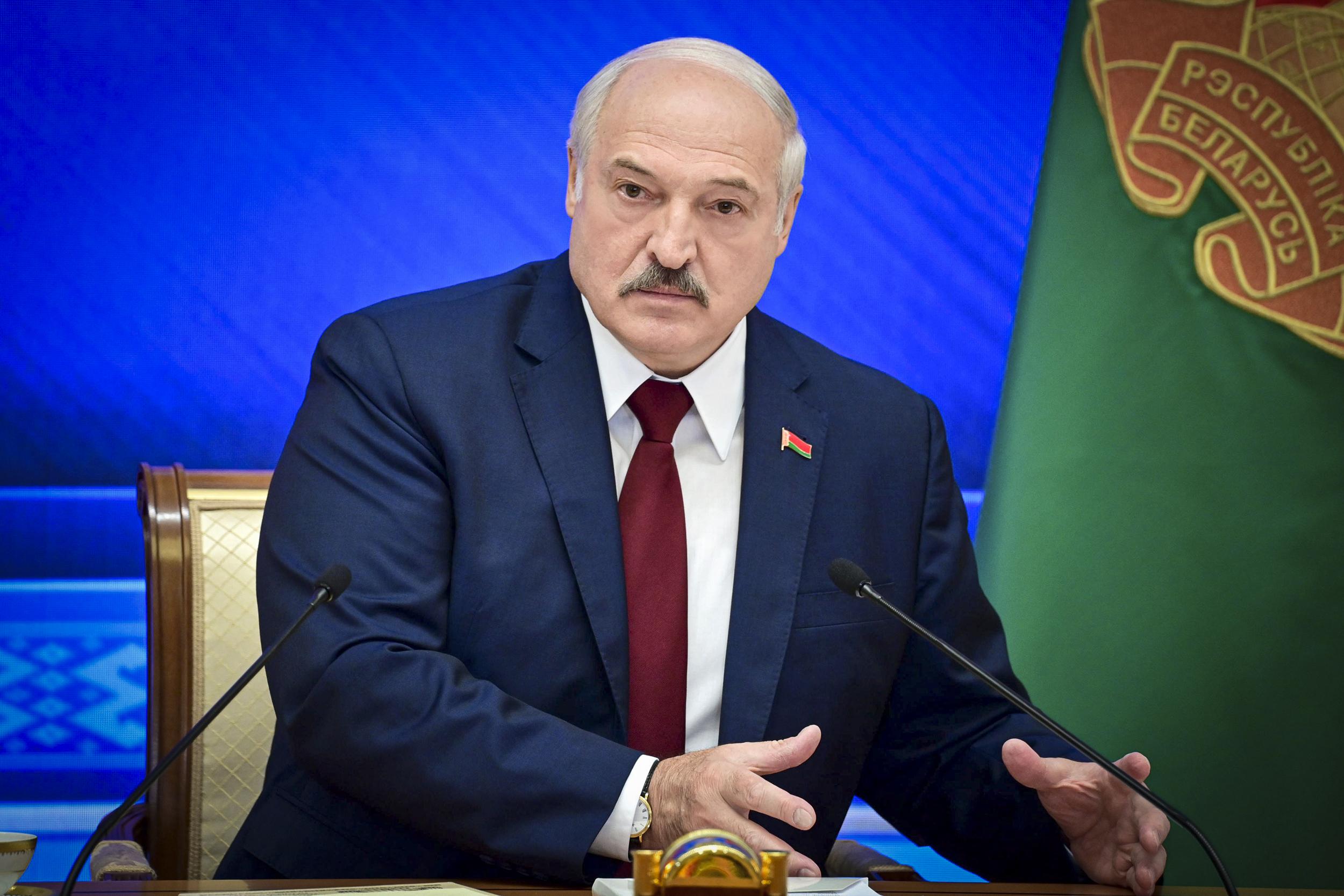 Biden pushes sanctions against Belarus' Lukashenko regime