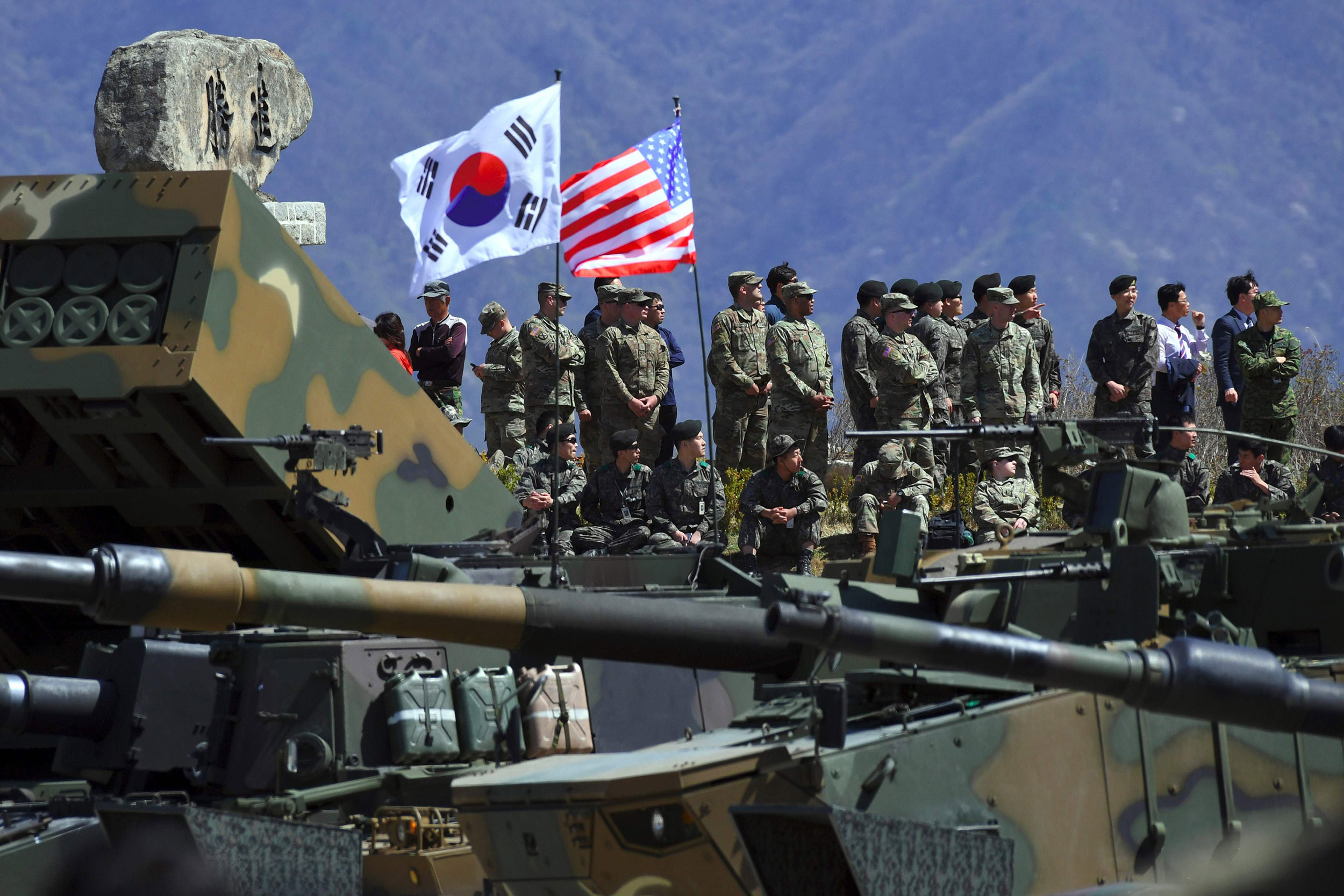 'Perfidious' and 'hostile': North Korea hits out over South-U.S. military drills