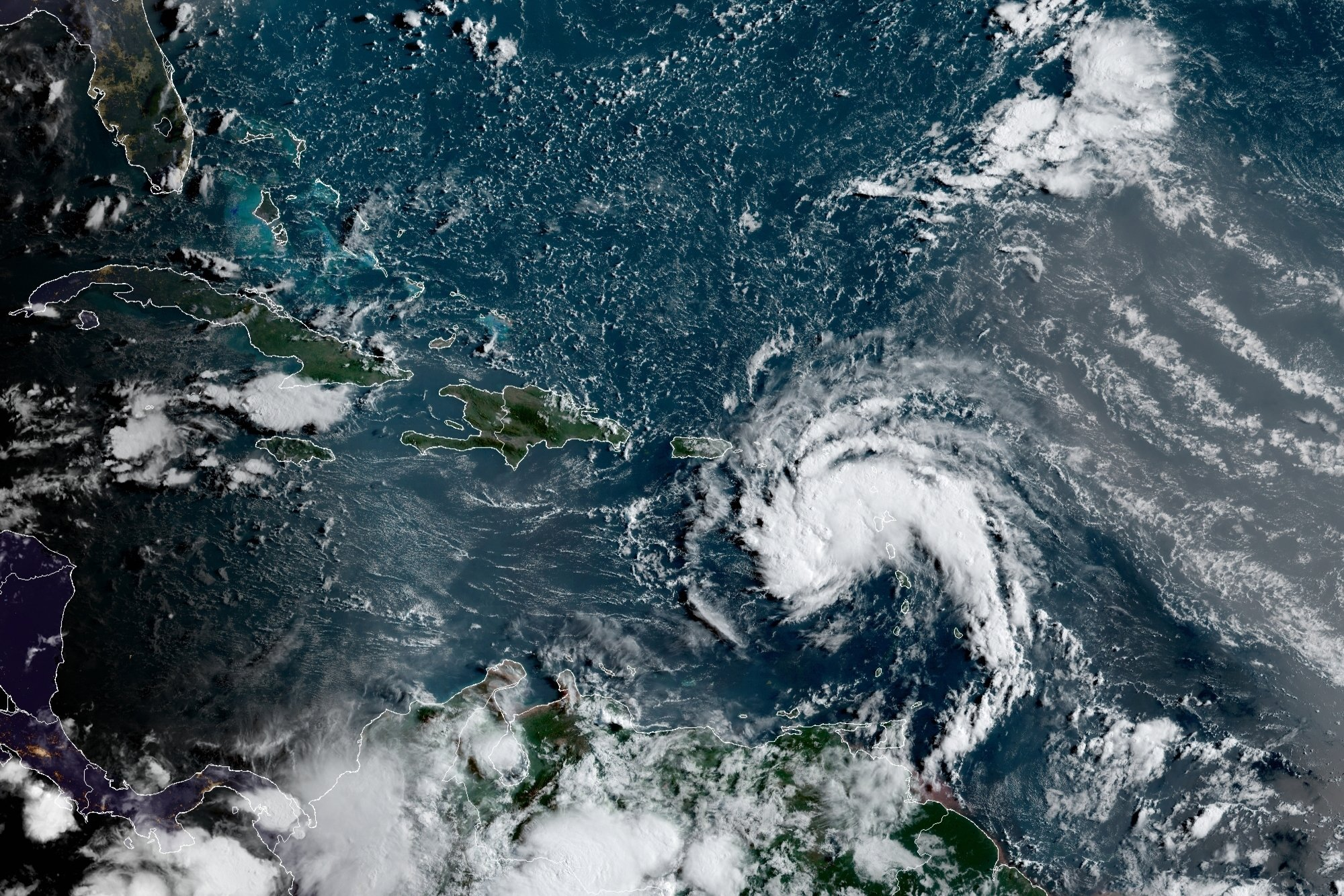 Tropical Storm Fred forecast to hit U.S. over the weekend