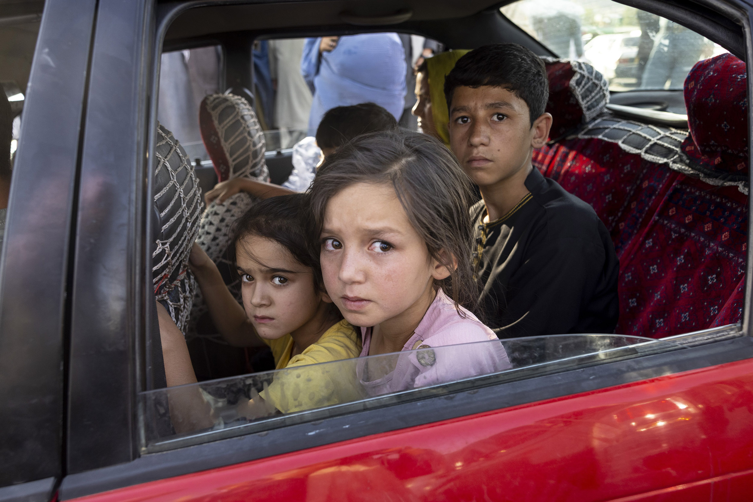 Biden says he has no regrets as Taliban advance. Afghans fear they have no refuge.