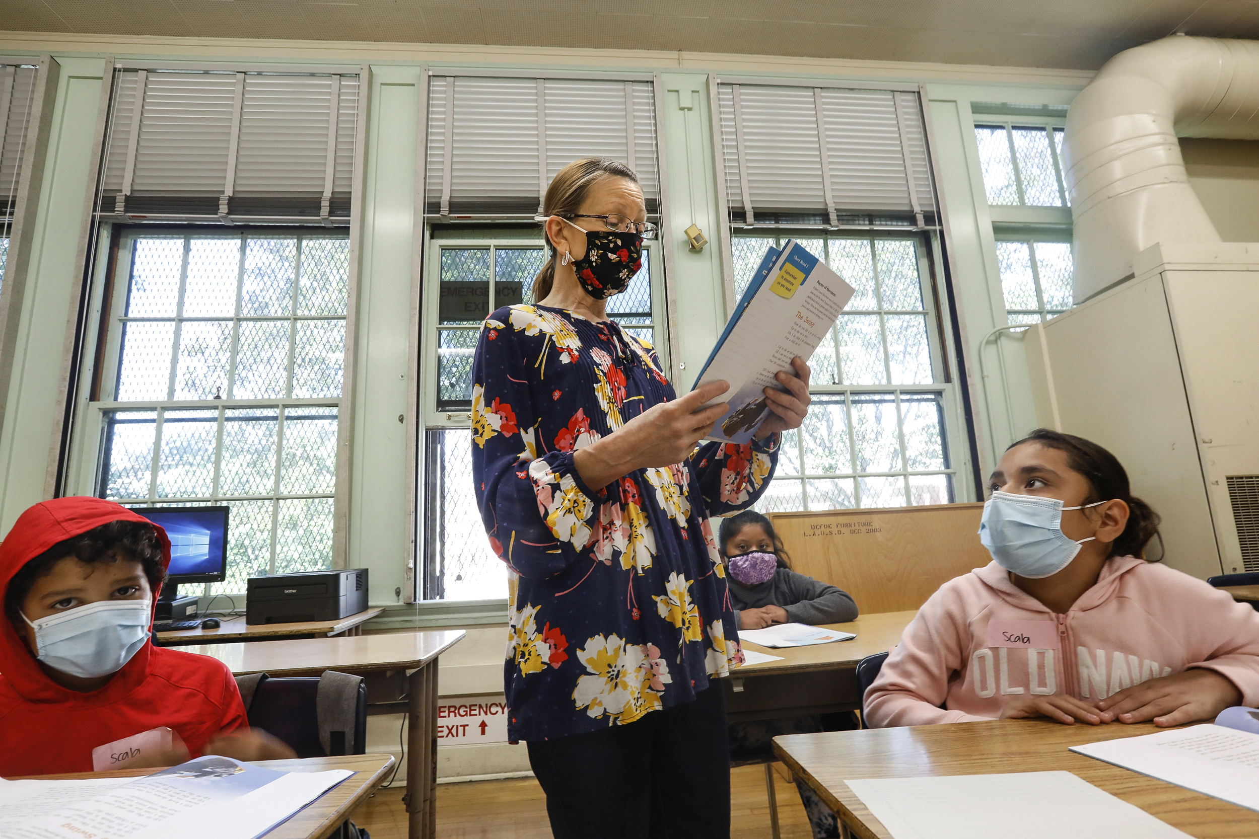 California first state to require all teachers, school staff to get vaccinated or tested weekly