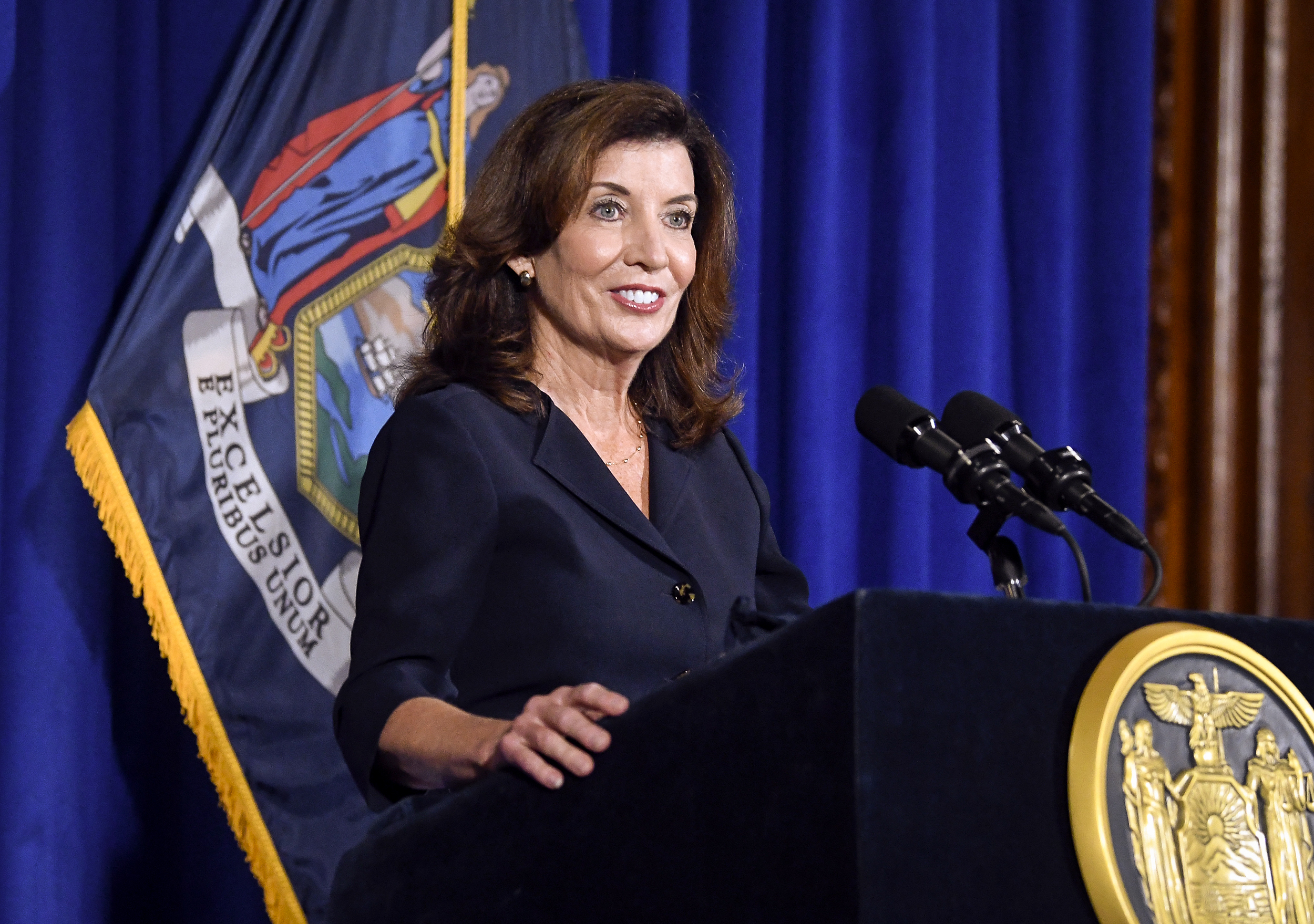 Cuomo successor Kathy Hochul assures New Yorkers: 'I will fight like hell for you'