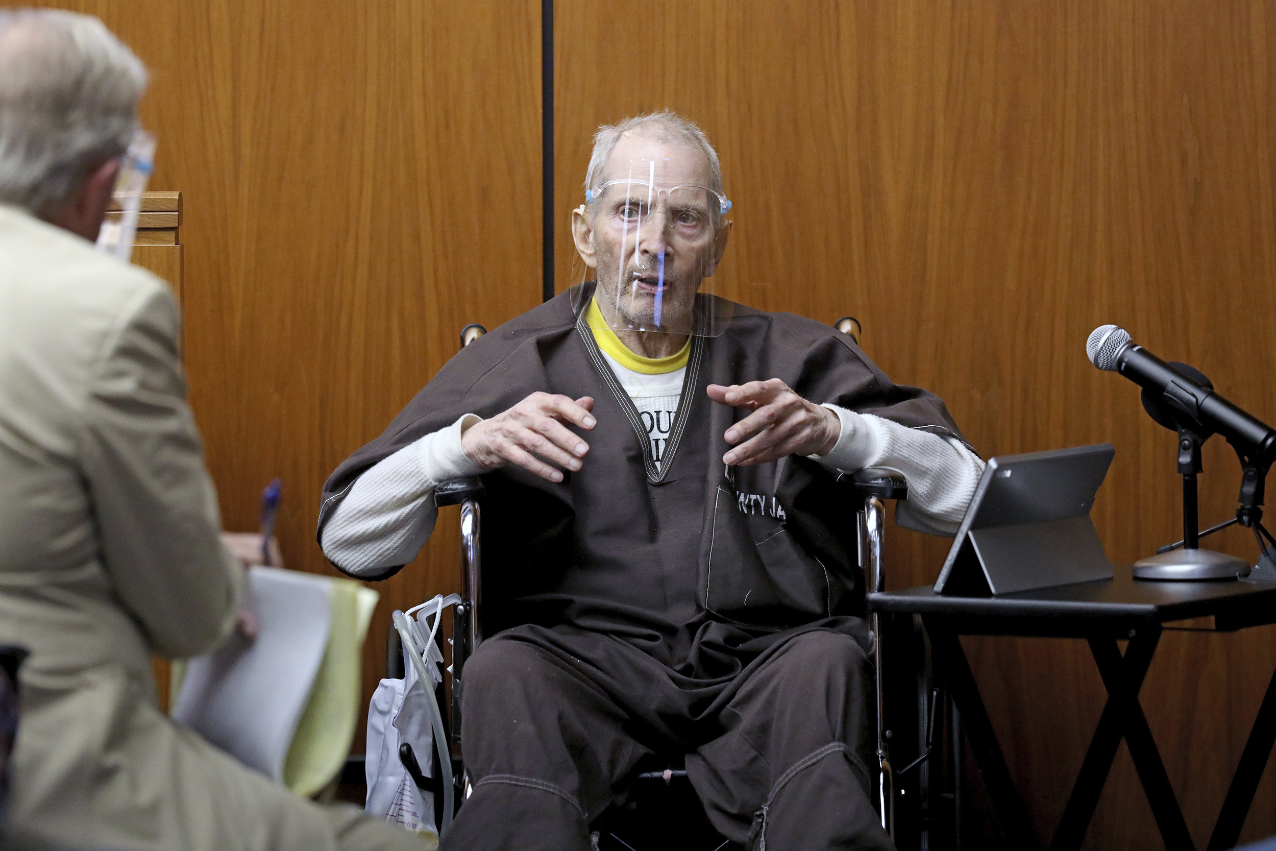 Robert Durst says he lied to police about night wife disappeared