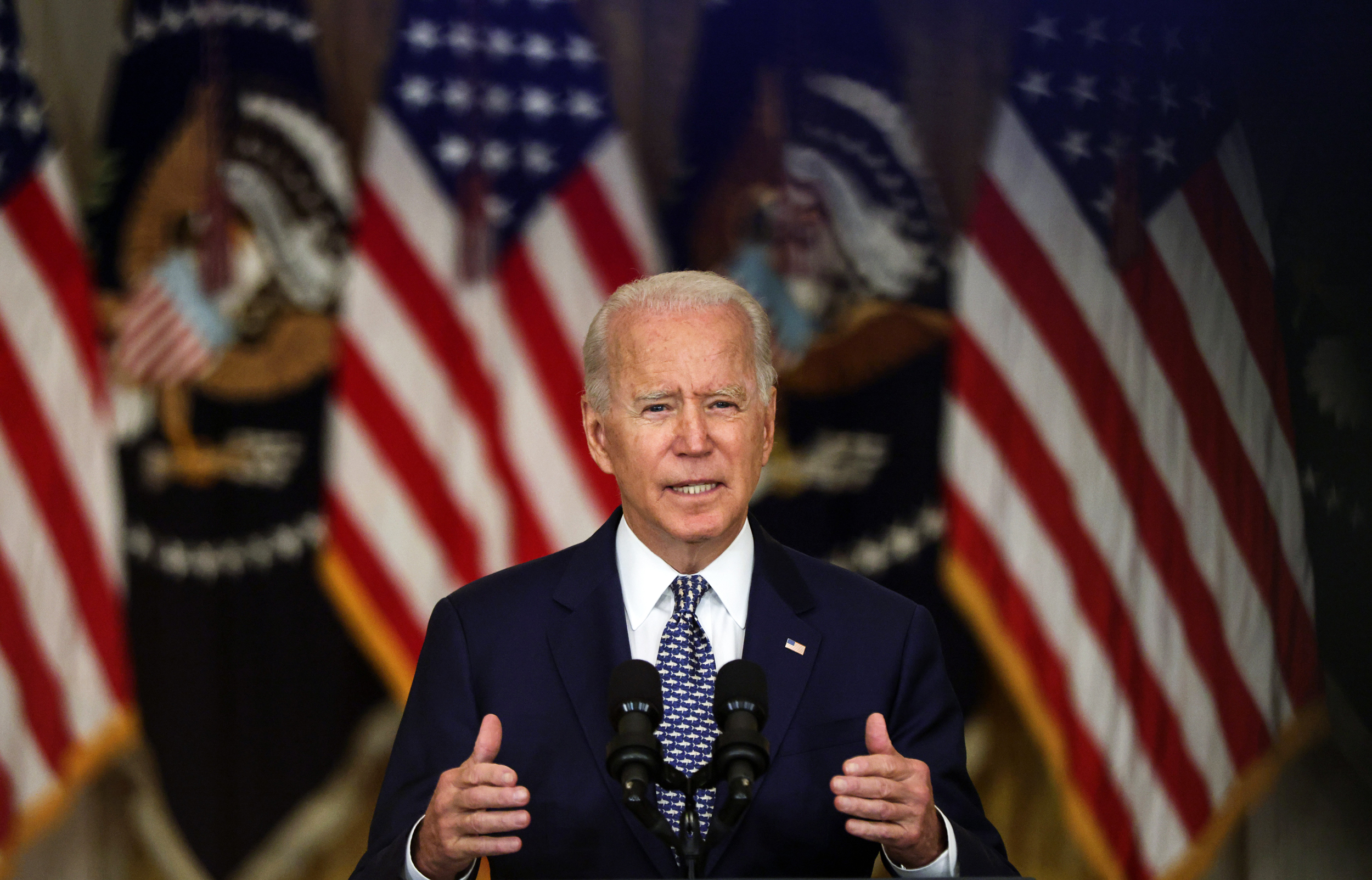 Biden expands vaccine mandate push to include thousands of HHS employees