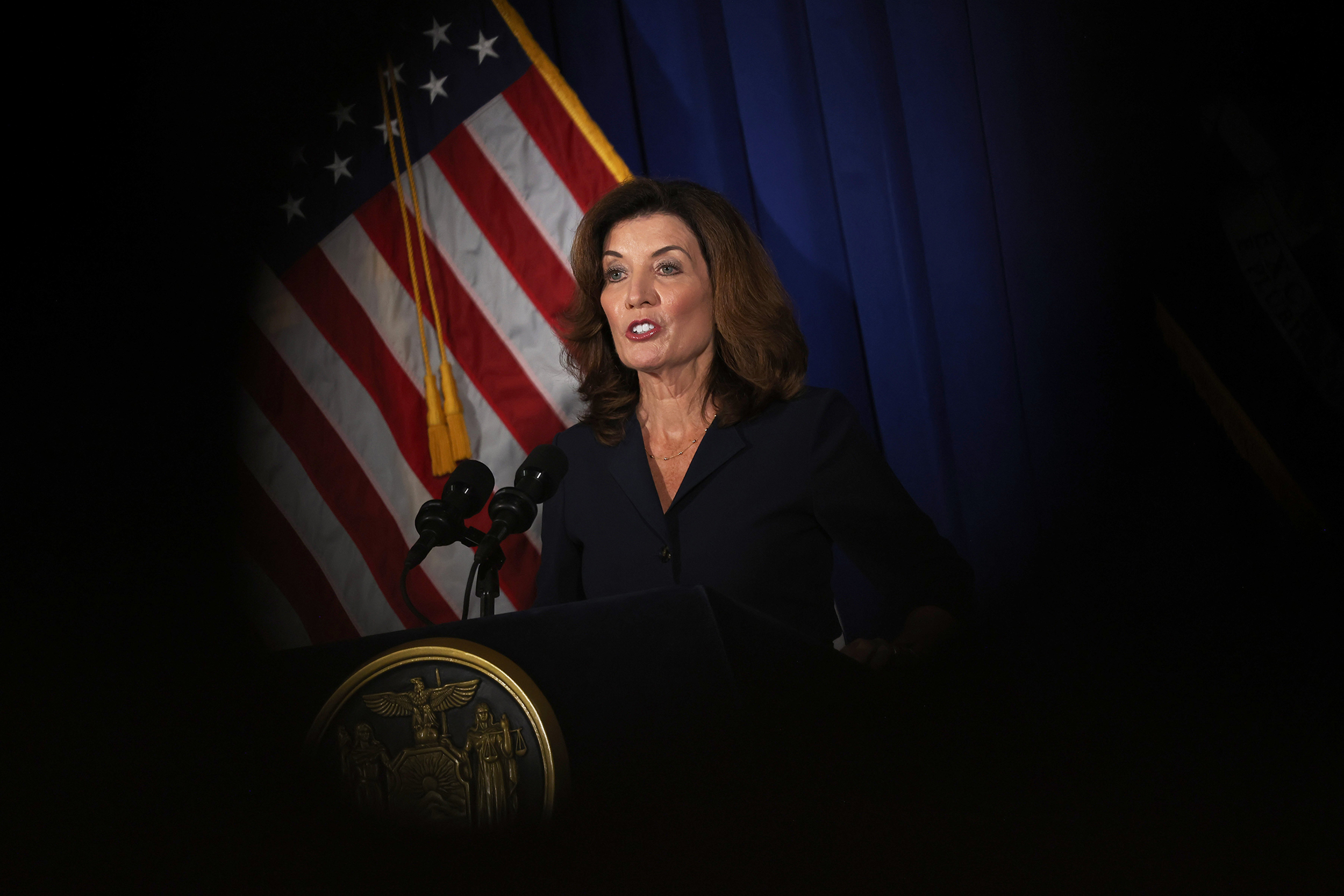 Hochul calls allegations against Cuomo 'sickening,' vows 'a very different environment'
