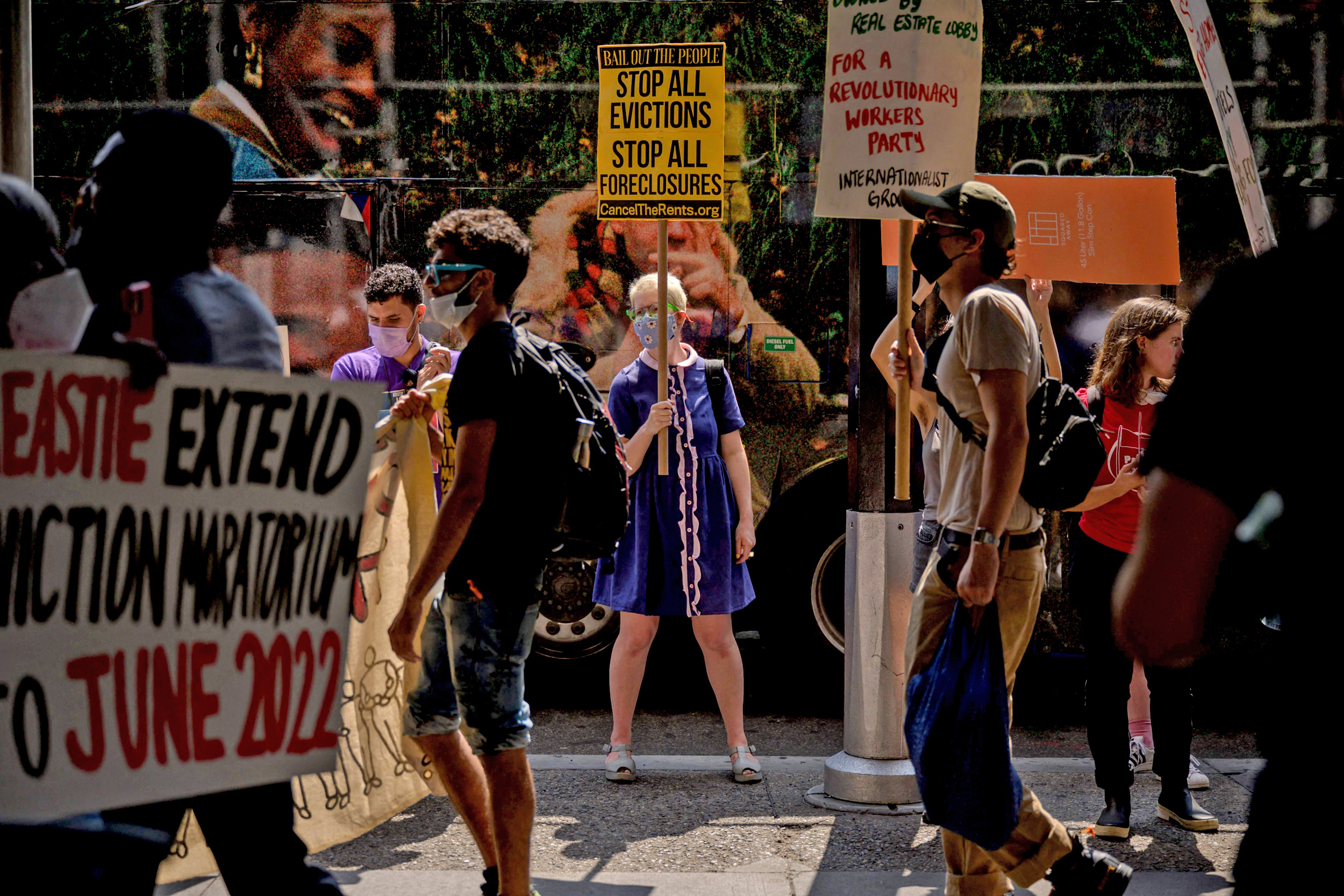Federal judge won't block Biden administration's new eviction moratorium