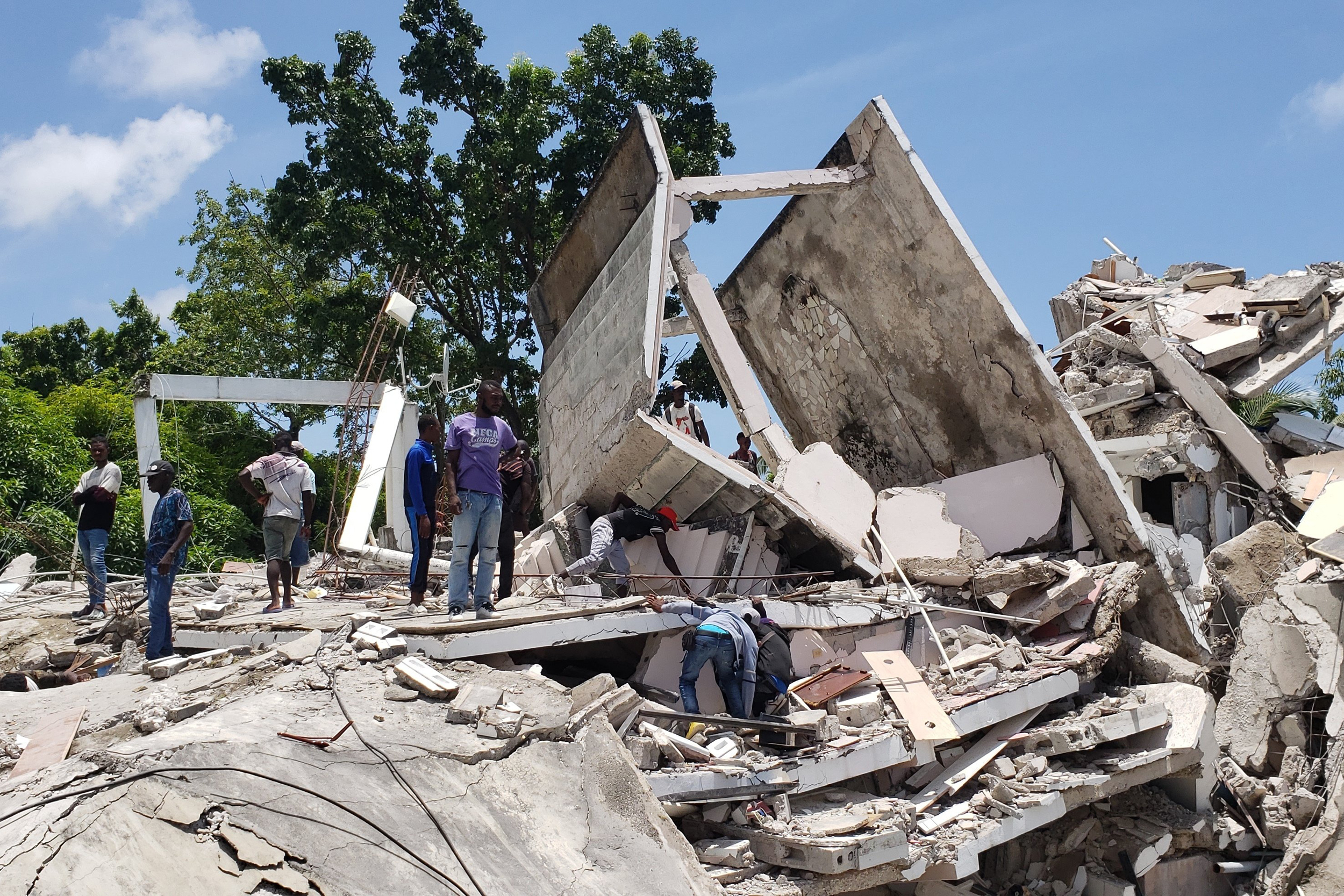 At least 227 dead after 7.2-magnitude earthquake strikes Haiti, officials say