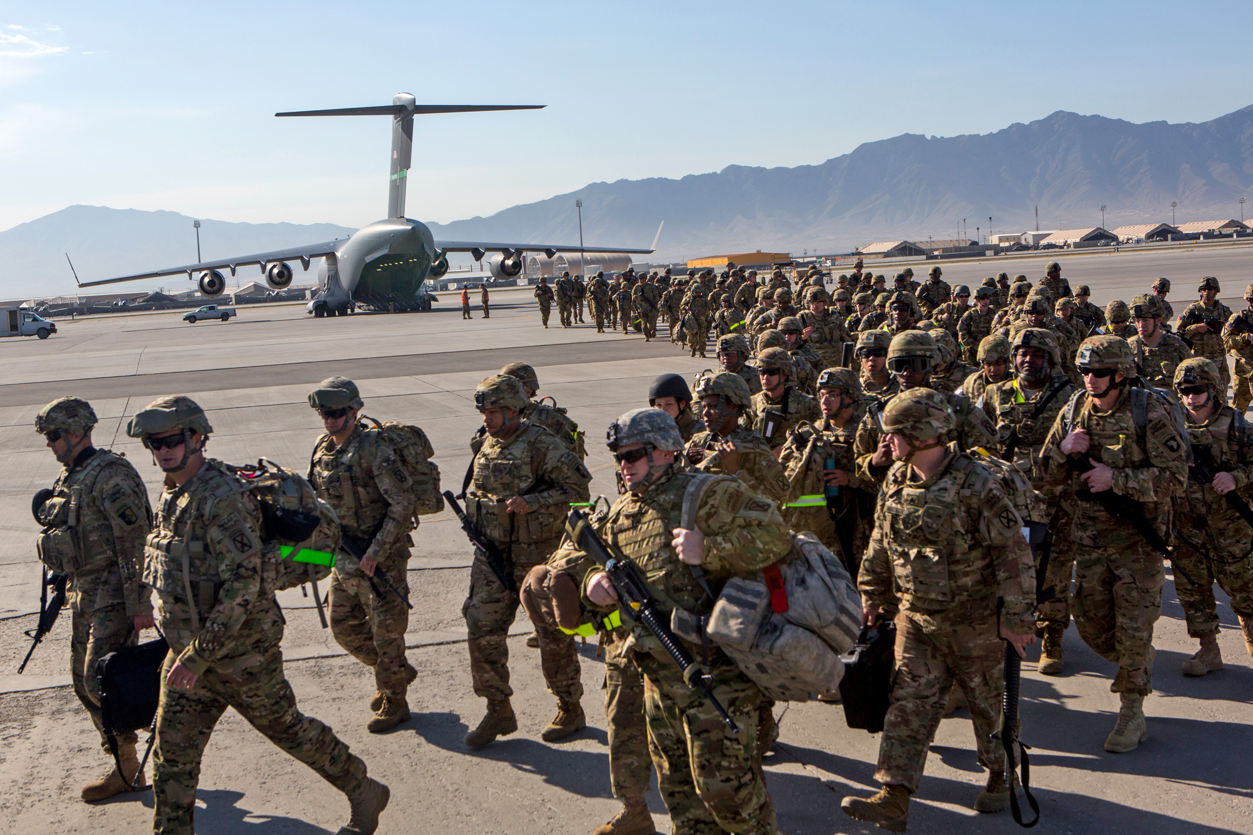 Biden authorizes 5,000 troops for Afghanistan