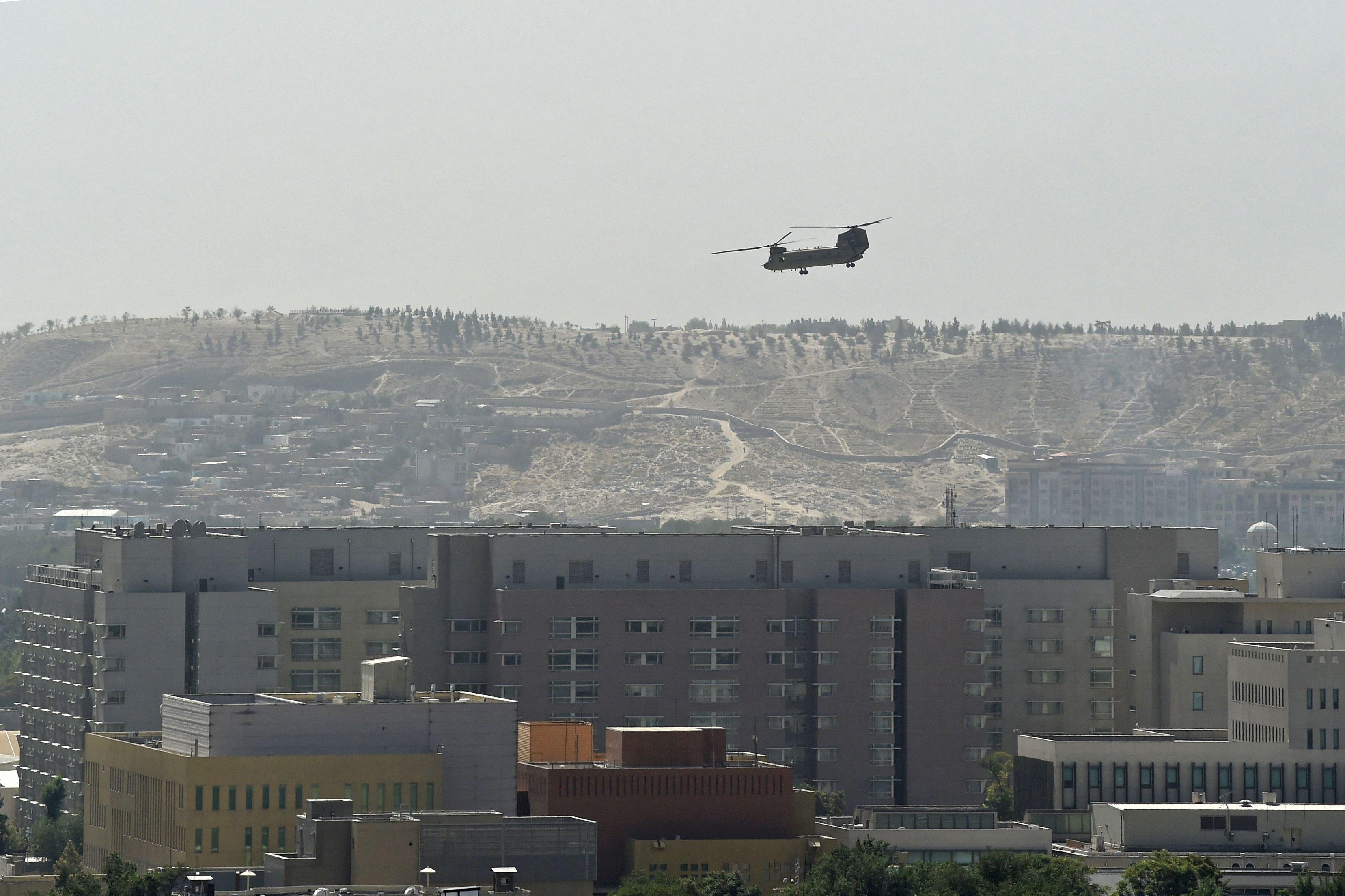 Taliban enter Kabul, seek transfer of power as U.S. rushes to evacuate