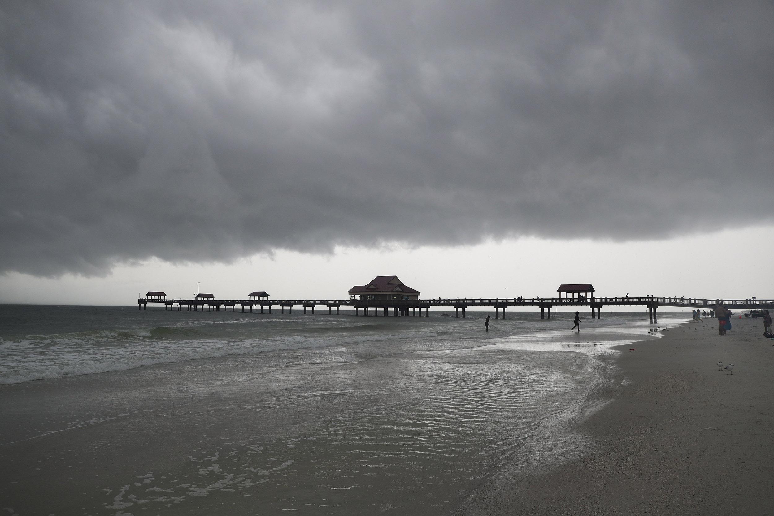 Tropical Storm Fred makes landfall in Florida, tropical depression targets quake-ravaged Haiti