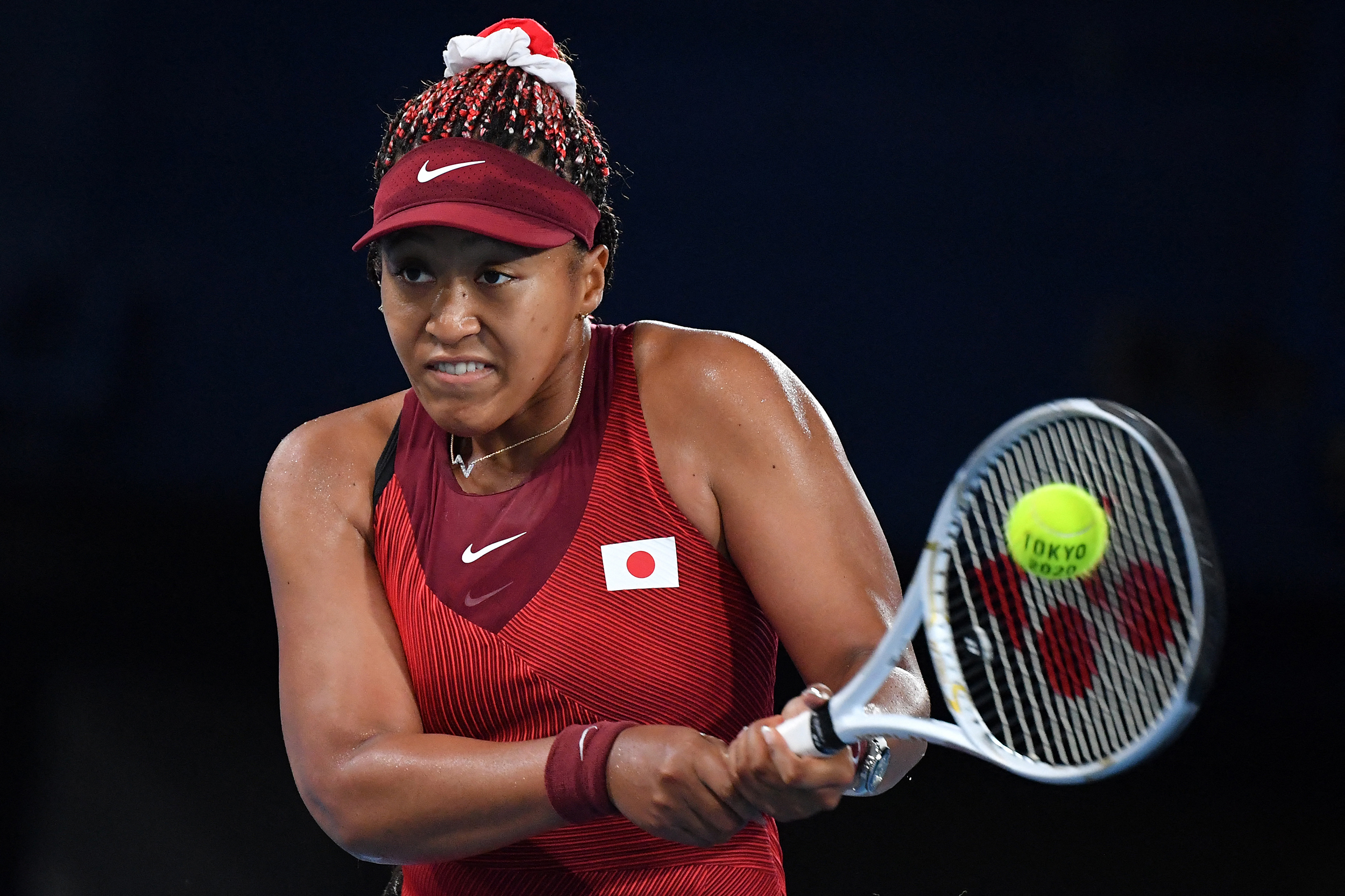 Naomi Osaka steps away from news conference after question on relationship with media