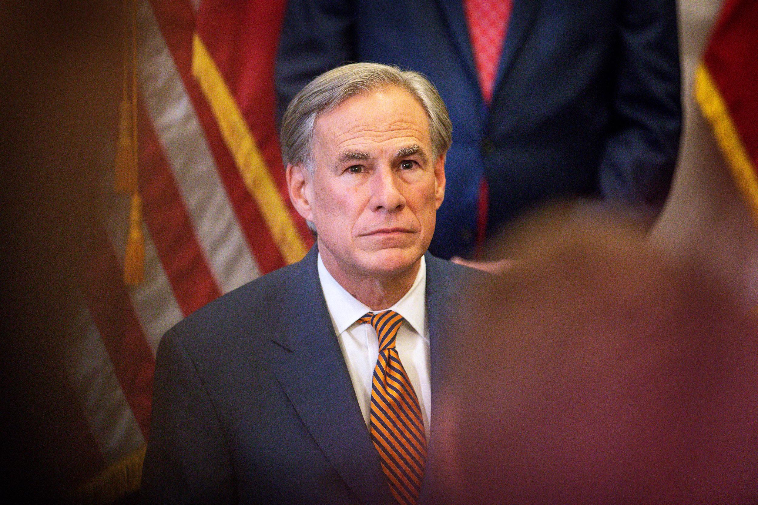 Texas Gov. Greg Abbott tests positive for Covid after banning mask, vaccination mandates