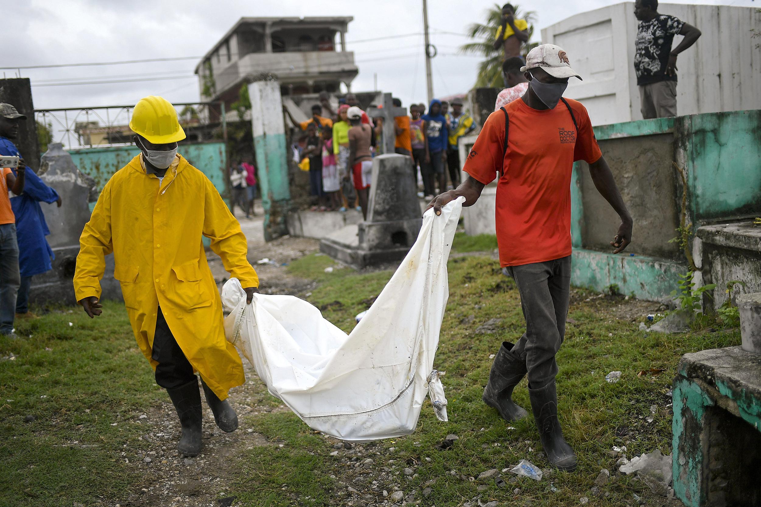 Death toll from Haiti earthquake climbs to 1,900