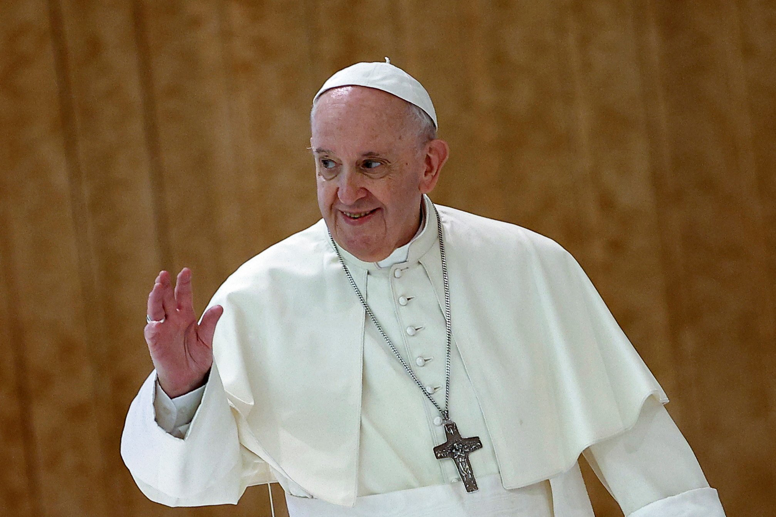 Pope Francis urges people to get vaccinated, calling it 'an act of love'