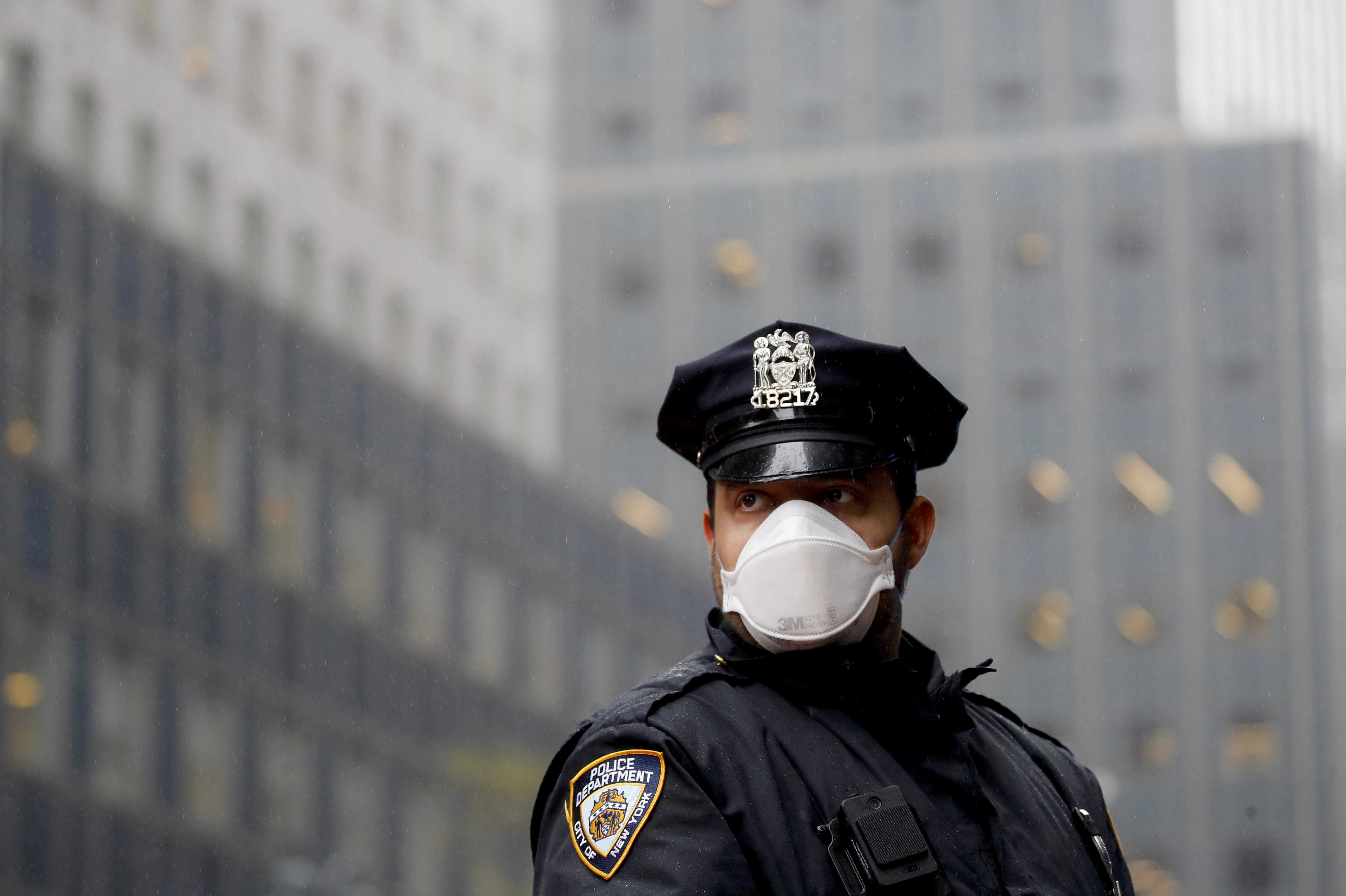 Unvaccinated NYPD officers must wear masks or face discipline