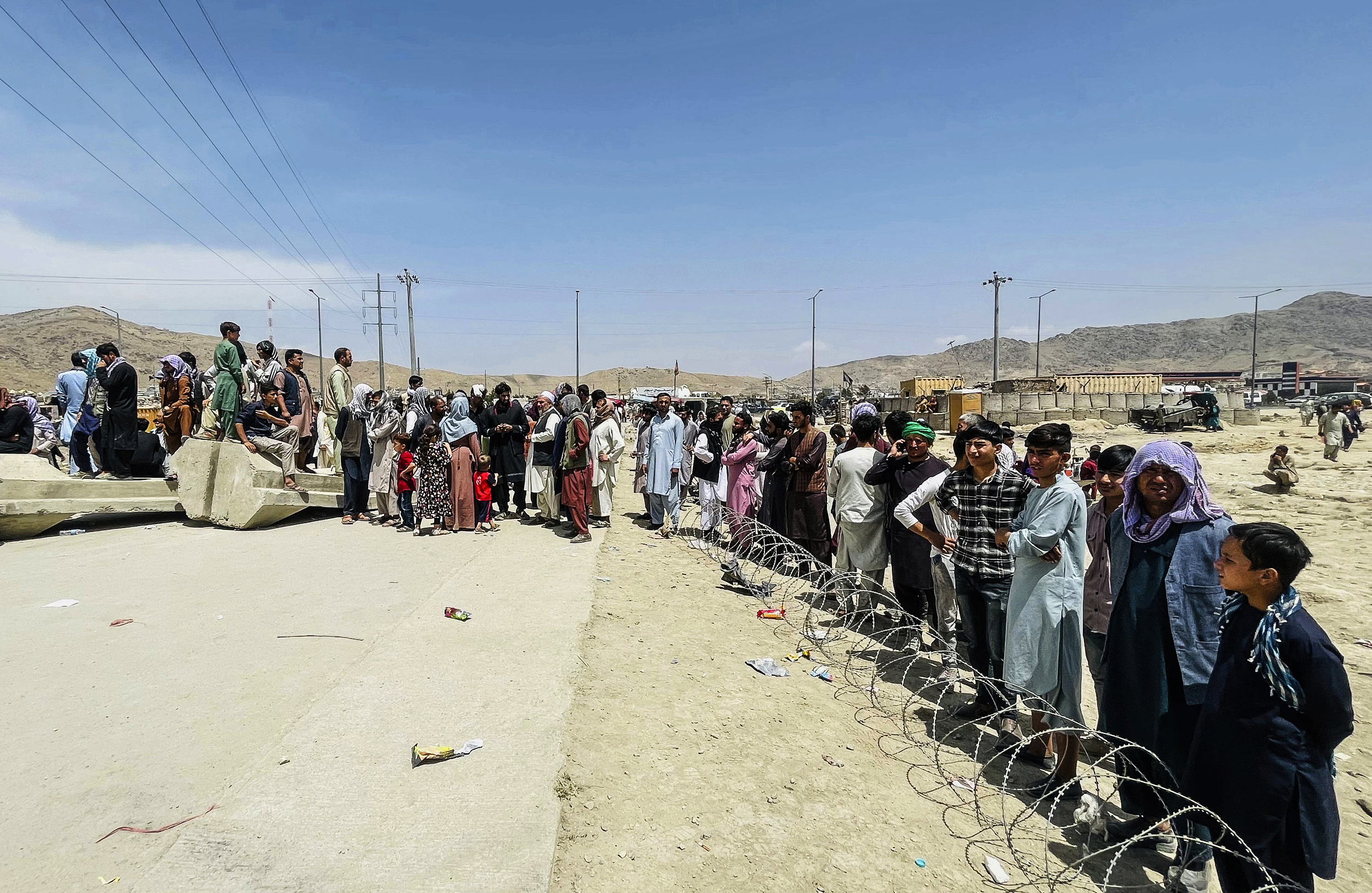 A heated political debate is coming to Congress: What to do about Afghan refugees
