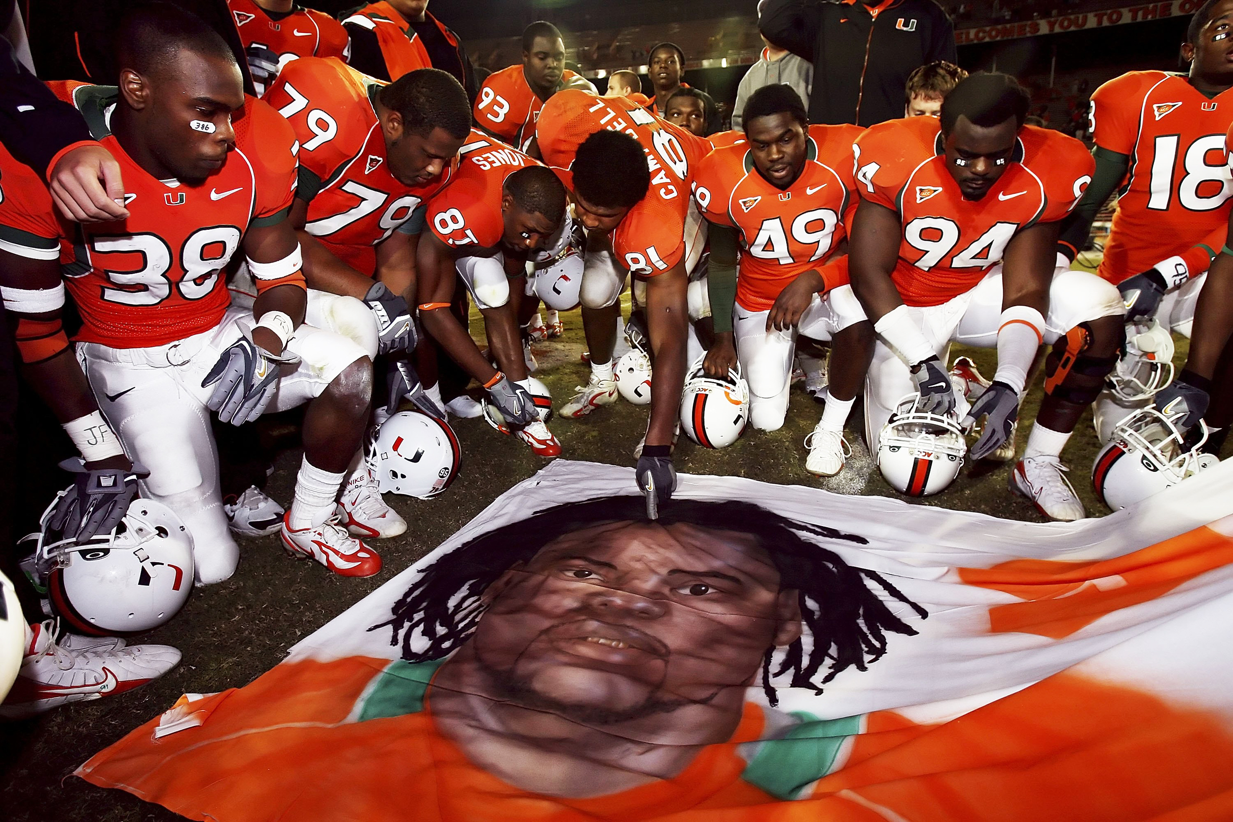 Police arrest teammate in connection with 2006 slaying of former University of Miami football player